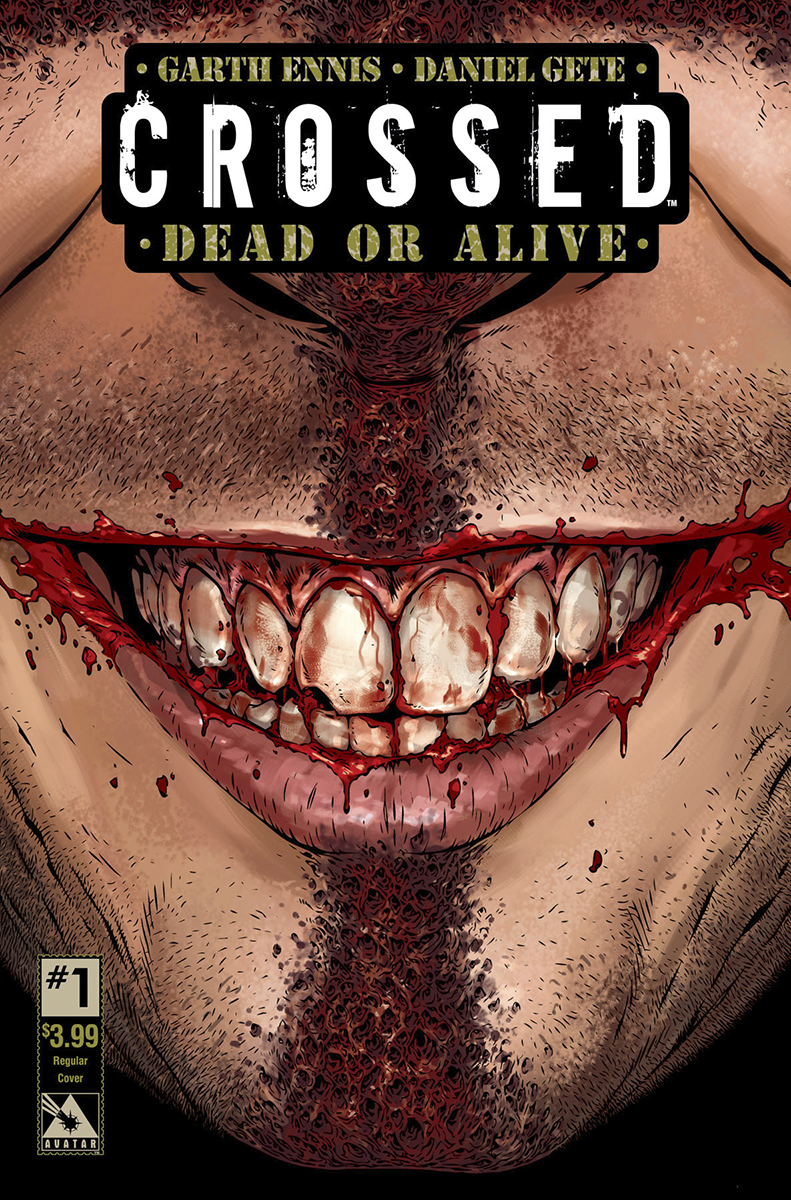 CROSSED DEAD OR ALIVE #1 (OF 2) (MR)