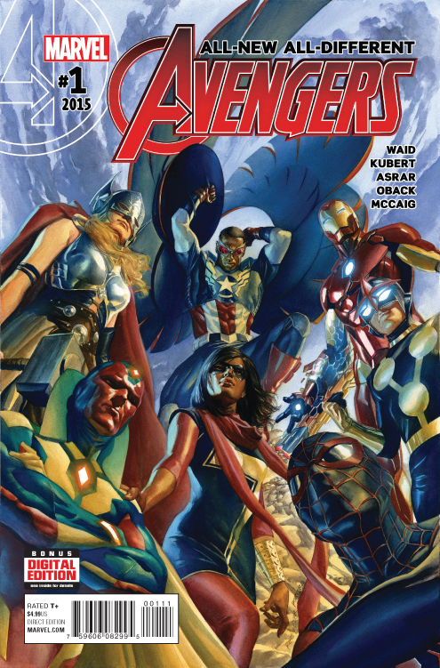 ALL NEW ALL DIFFERENT AVENGERS #1