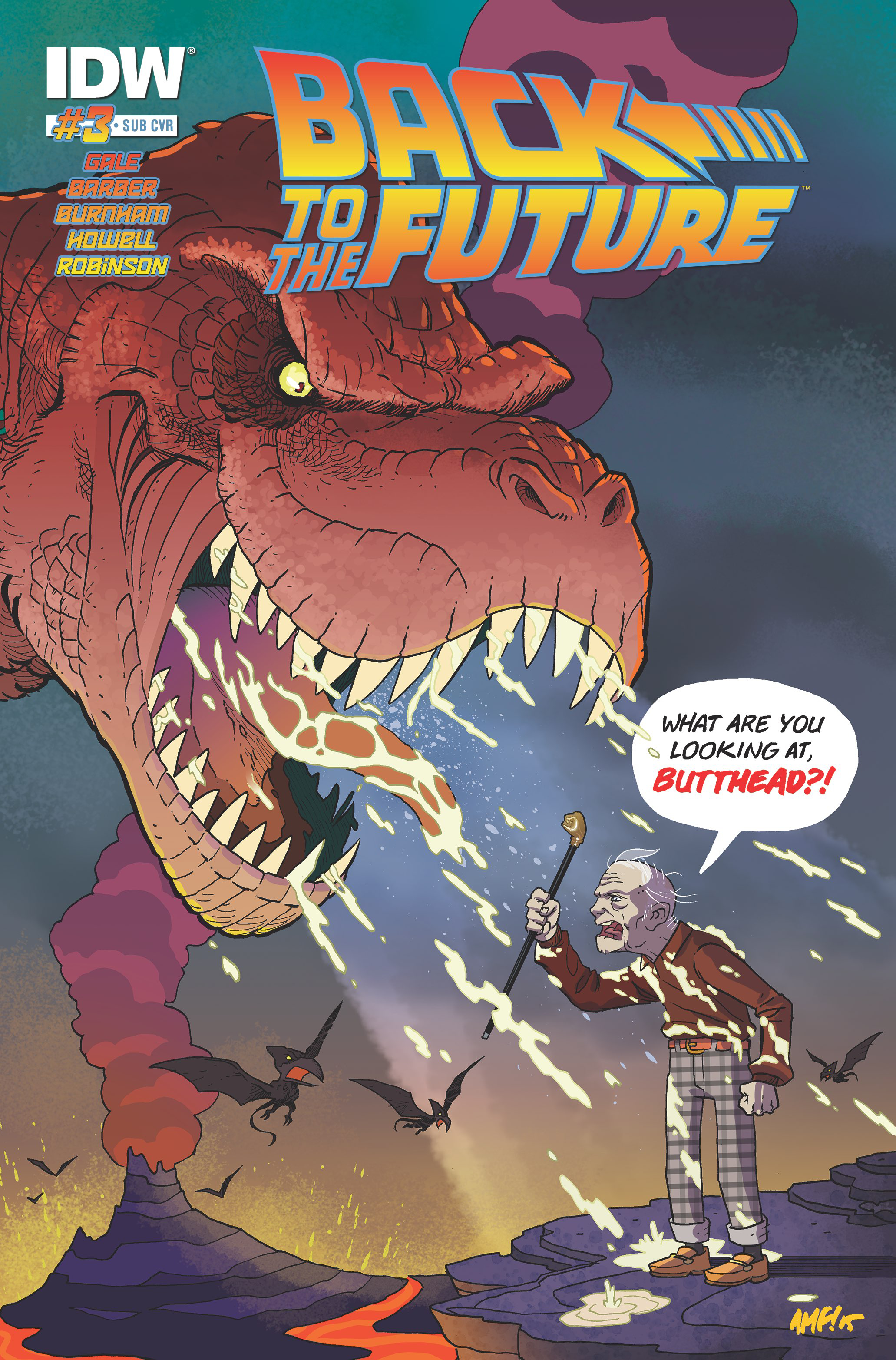 BACK TO THE FUTURE #3 (OF 4) SUBSCRIPTION VAR