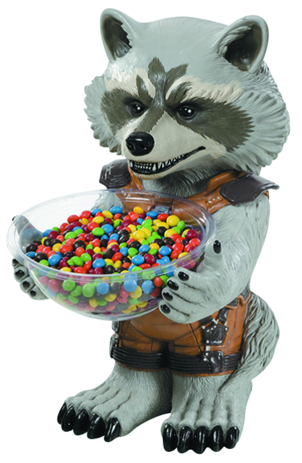 MARVEL HEROES ROCKET RACCOON CANDY BOWL HOLDER