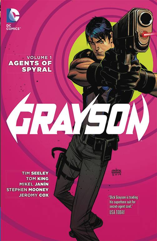 GRAYSON TP VOL 01 AGENTS OF SPYRAL