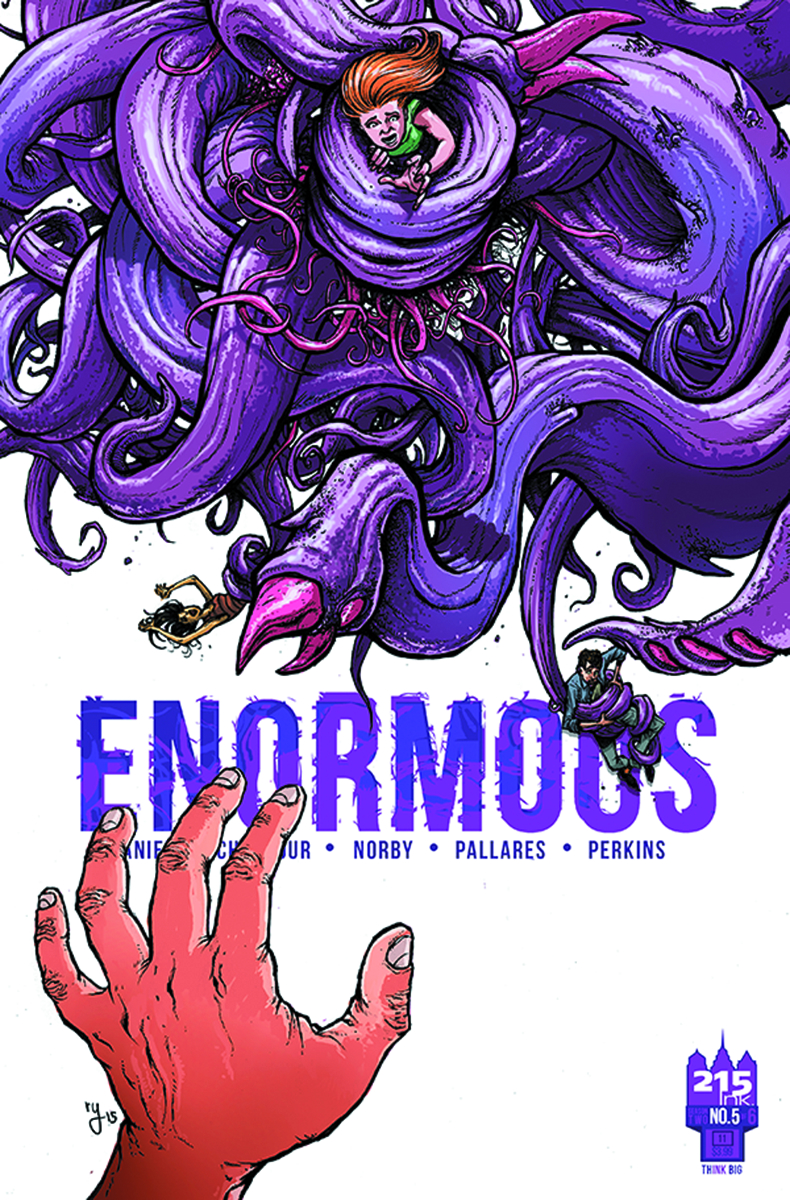 ENORMOUS V2 #5 (OF 6) CVR B LEE