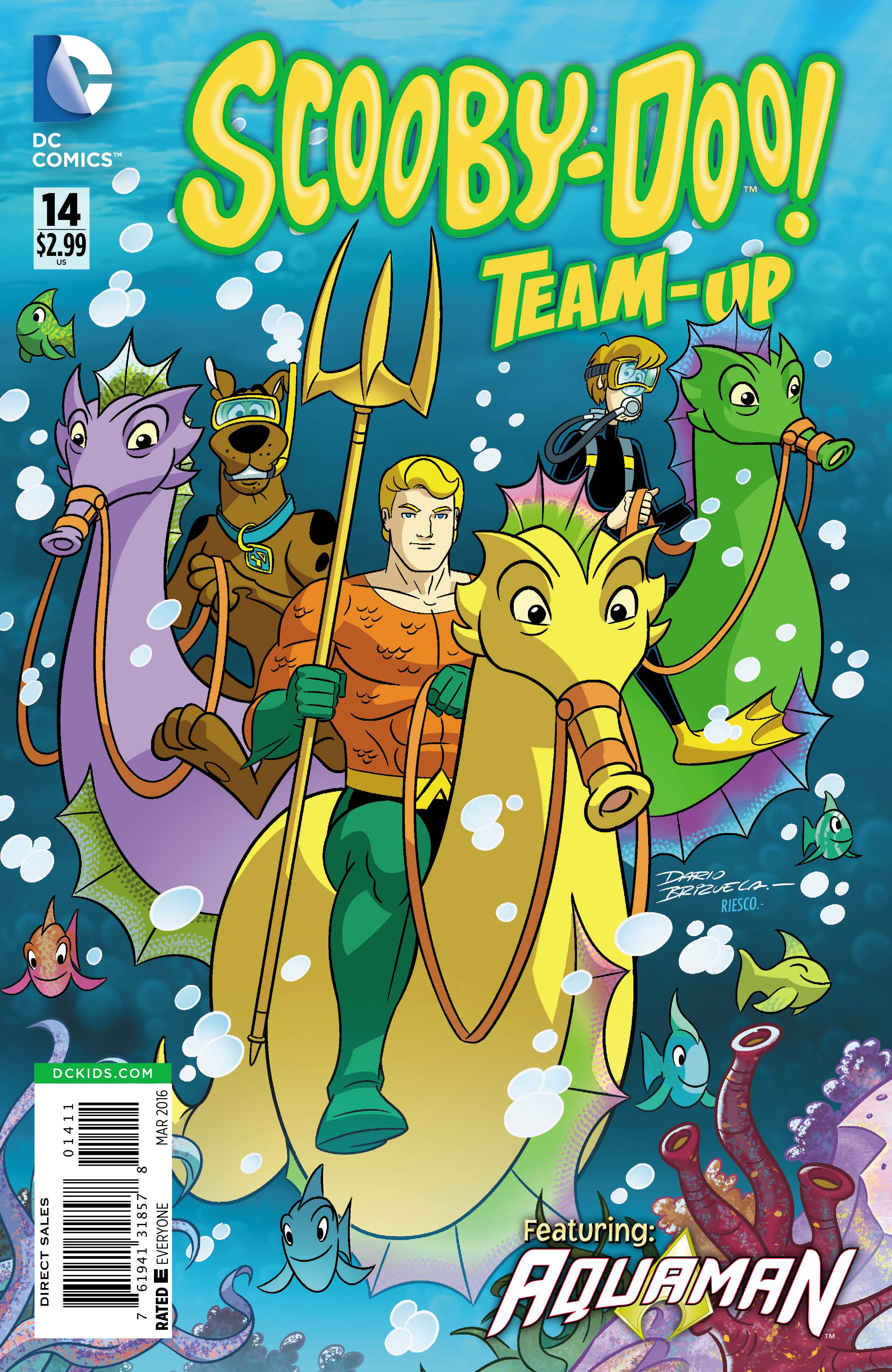 SCOOBY DOO TEAM UP #14