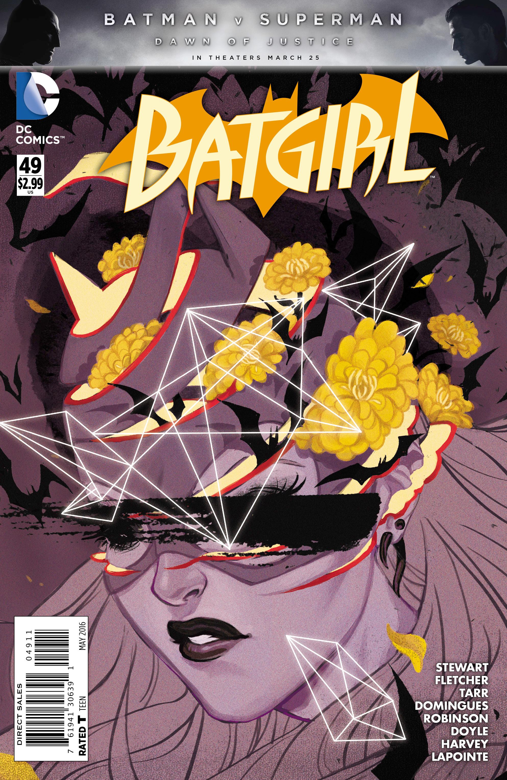 Batgirl #49 B Cover DC NM Comics Book