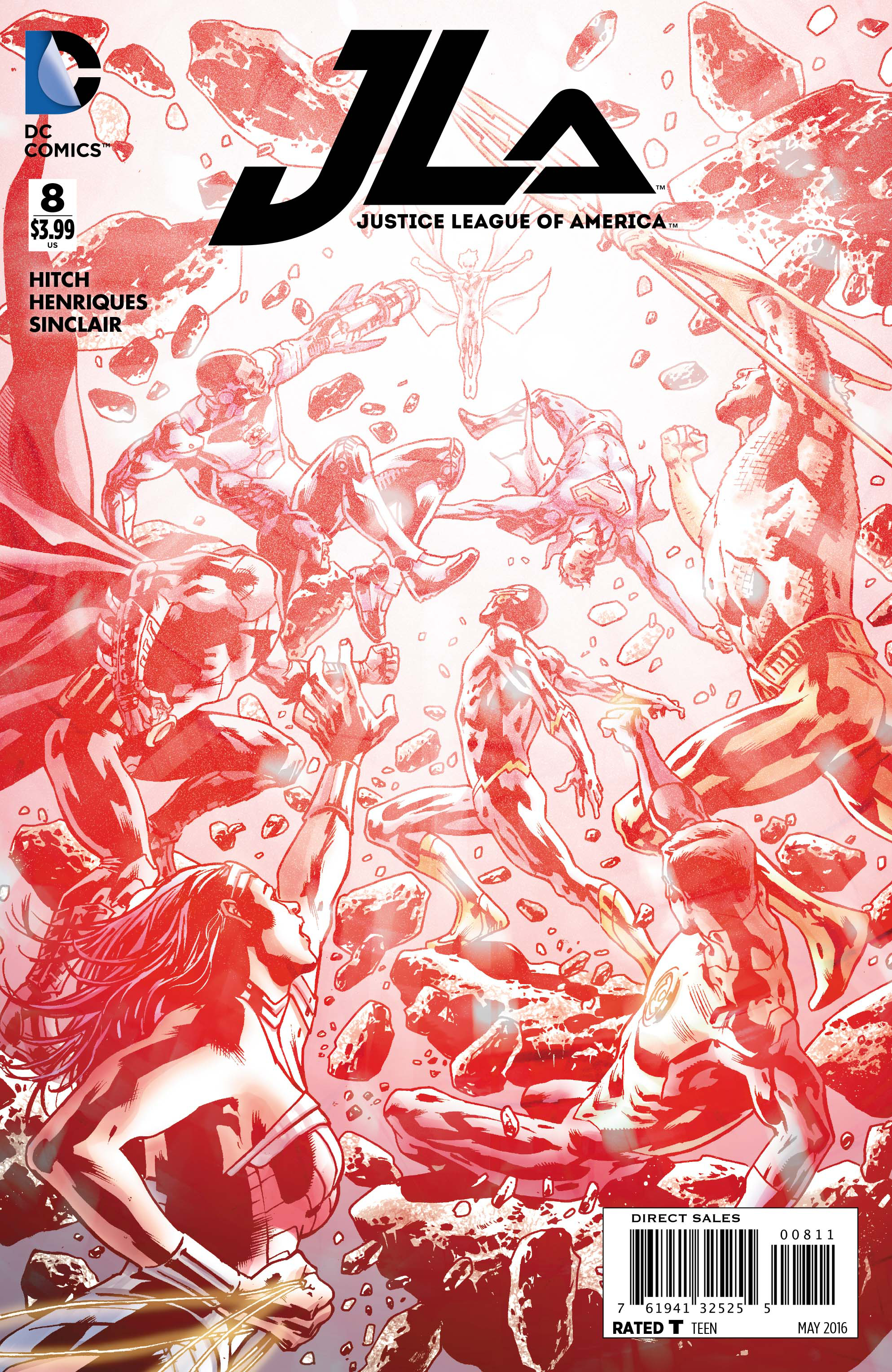JUSTICE LEAGUE OF AMERICA #8