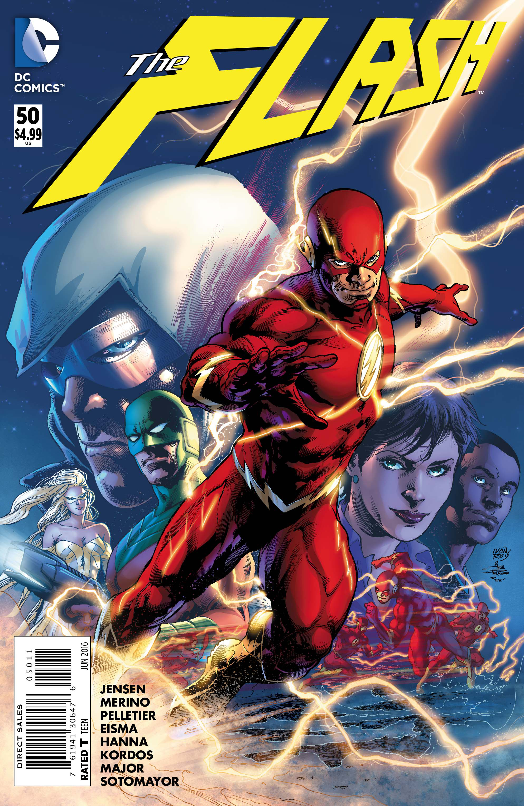 FLASH #50 (NOTE PRICE)
