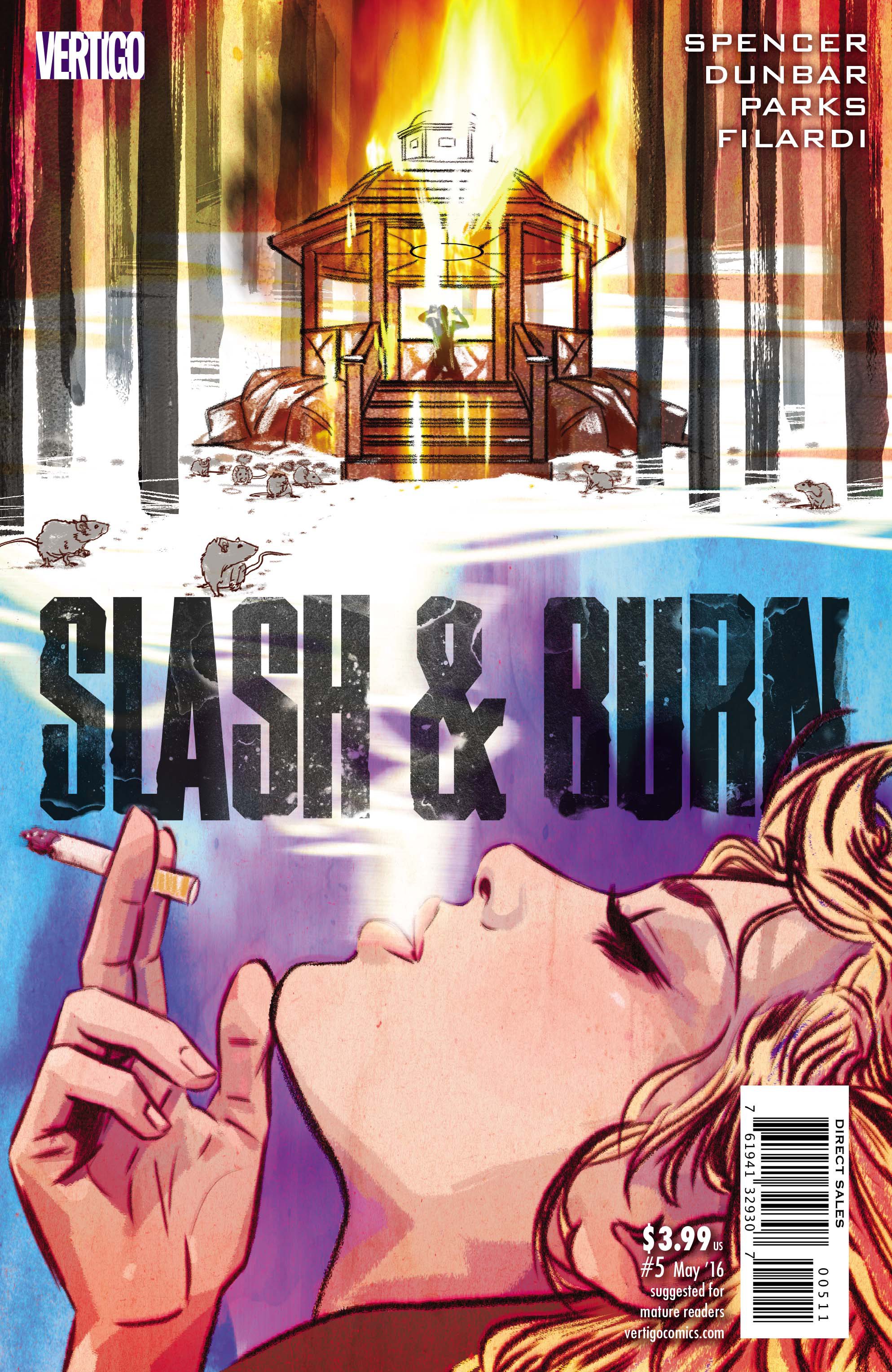 SLASH & BURN #5 (MR)
