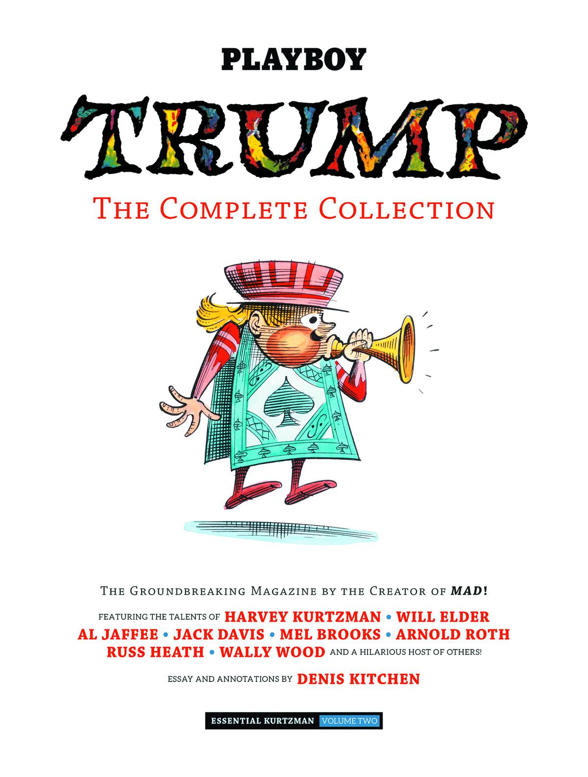 ESSENTIAL KURTZMAN HC VOL 02 TRUMP COMPLETE