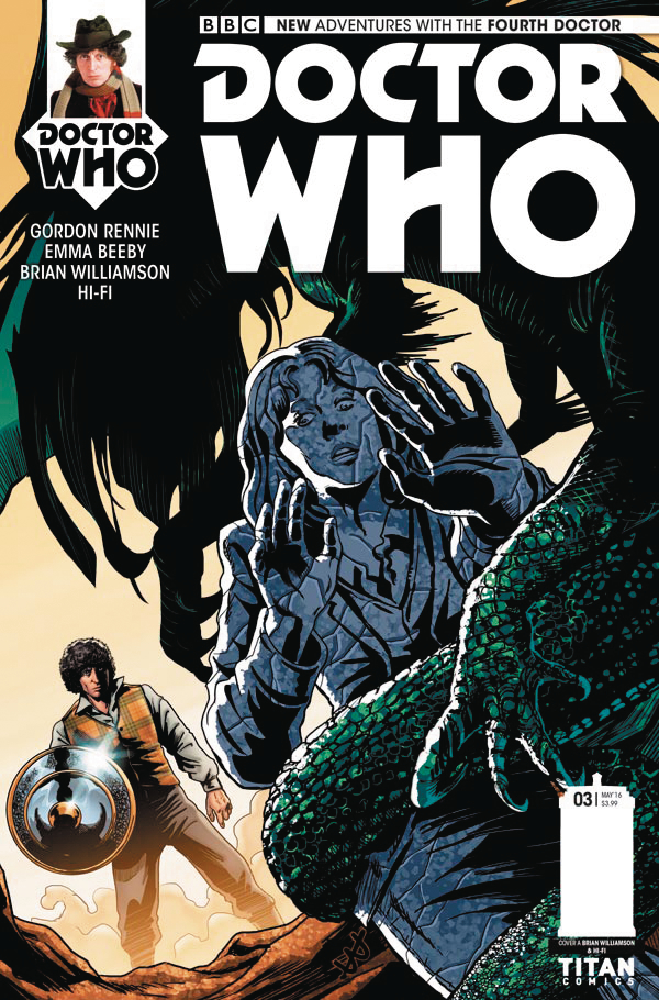 DOCTOR WHO 4TH #3 (OF 5) CVR A WILLIAMSON