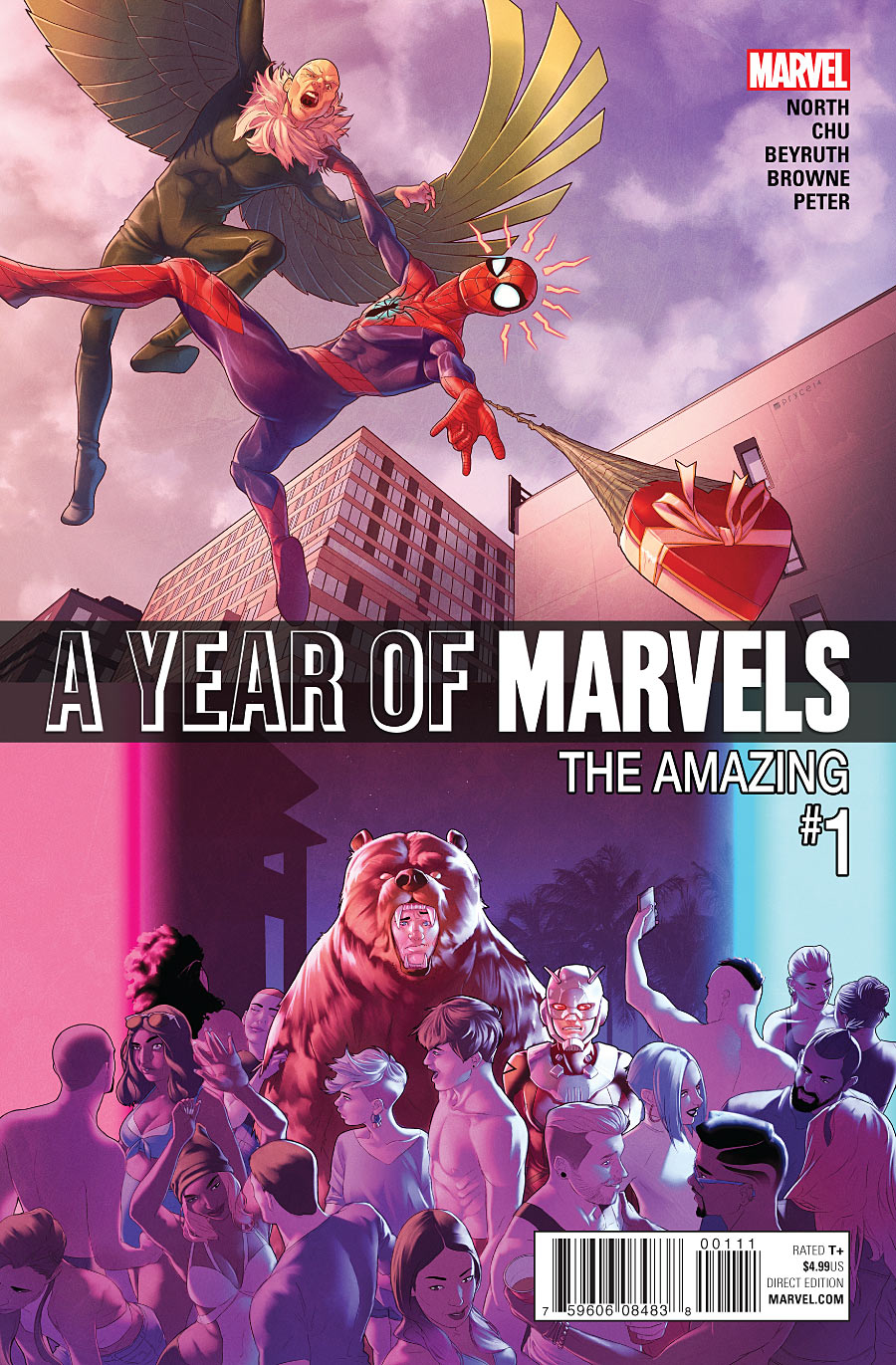 A YEAR OF MARVELS AMAZING