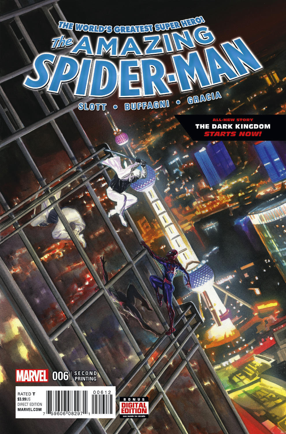 AMAZING SPIDER-MAN #6 ALEX ROSS 2ND PTG VAR