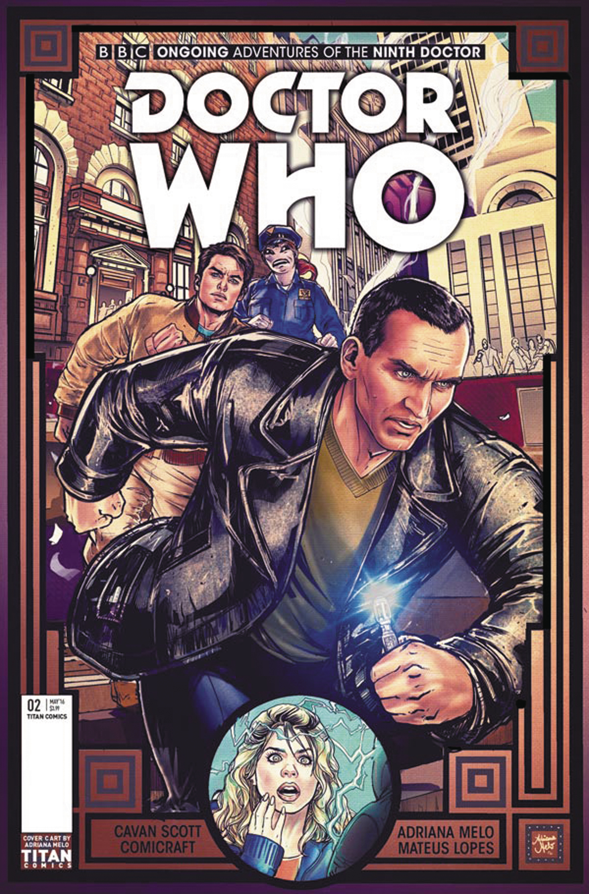 DOCTOR WHO 9TH #2 CVR C MELO