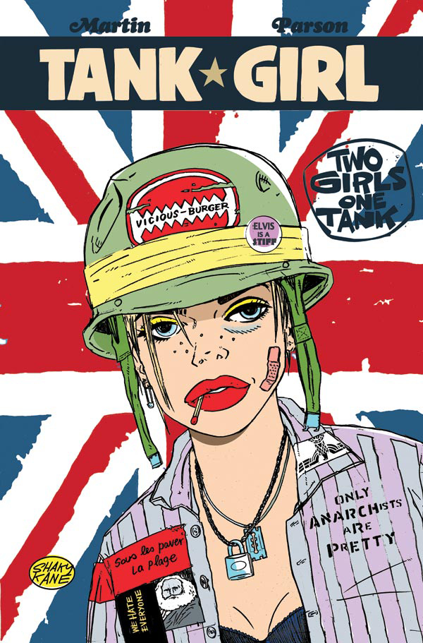 TANK GIRL 2 GIRLS 1 TANK #1 (OF 4) CVR C KANE