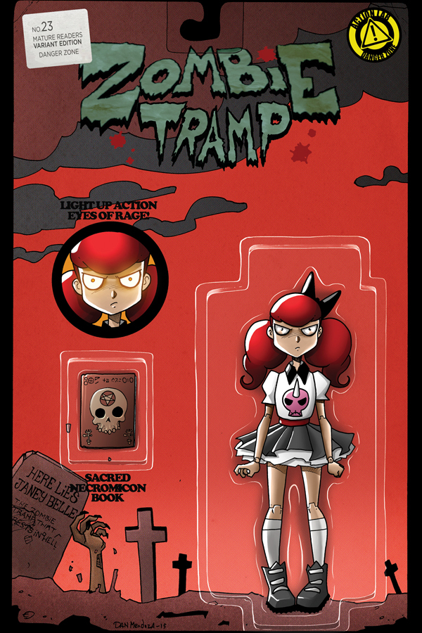 ZOMBIE TRAMP ONGOING #23 CVR C ACTION FIGURE (MR)