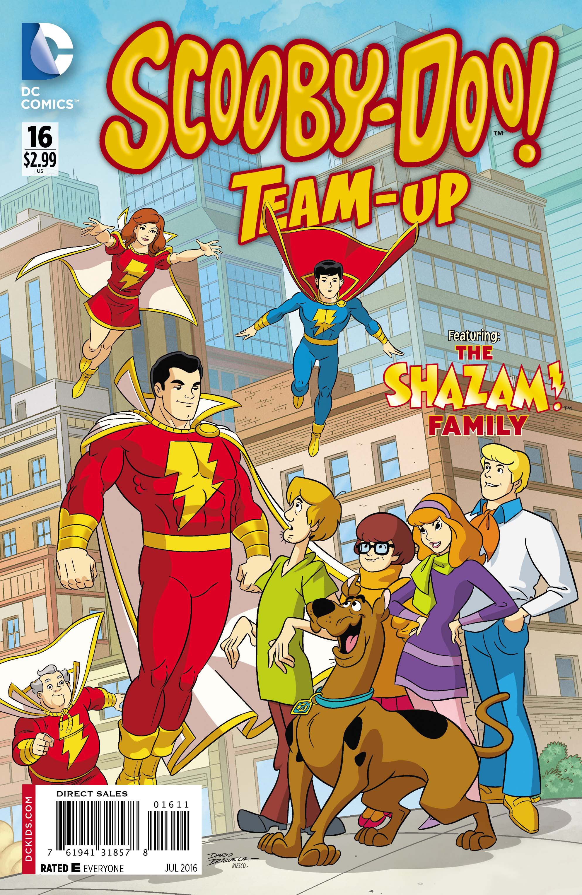 SCOOBY DOO TEAM UP #16