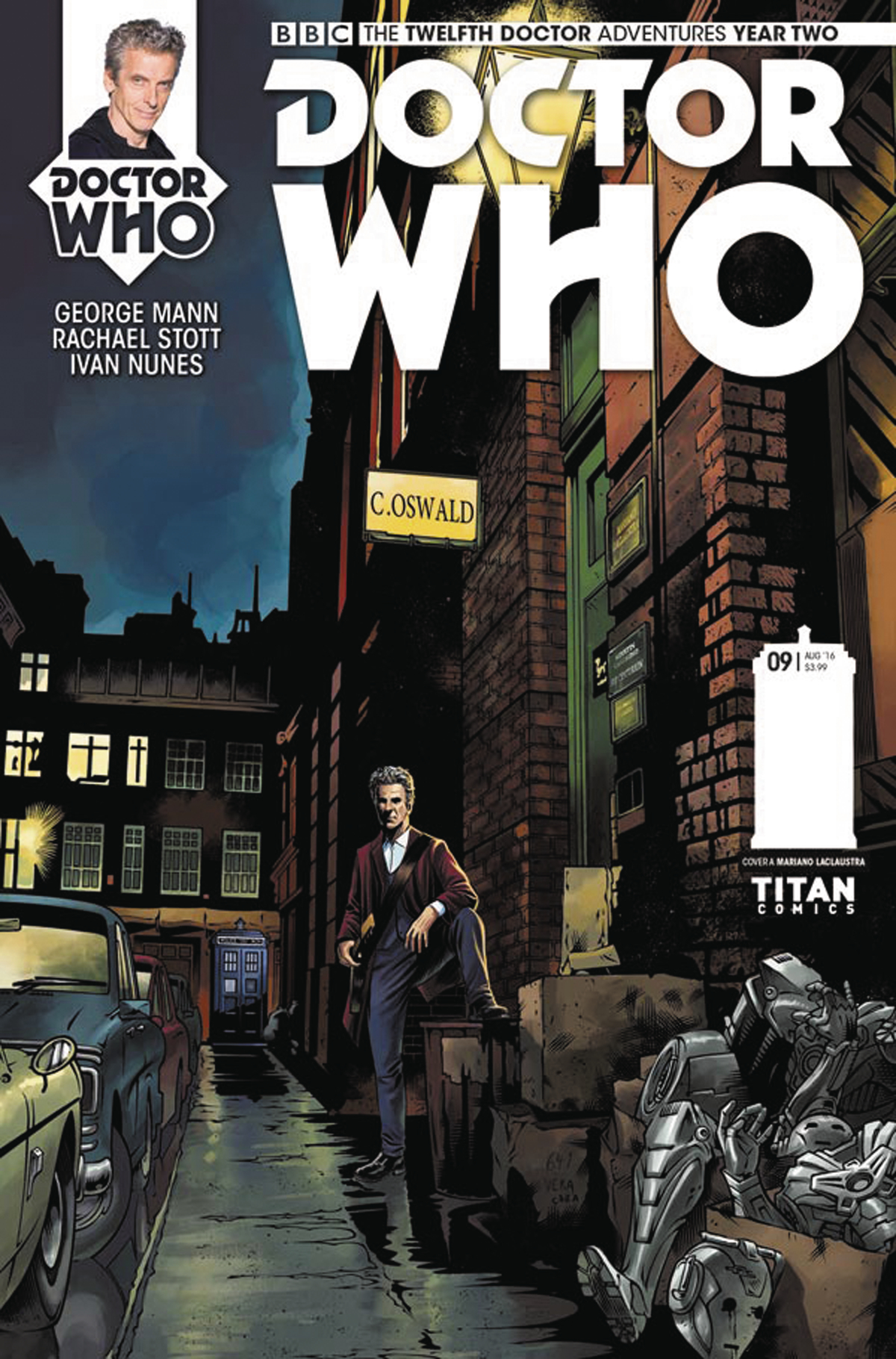 DOCTOR WHO 12TH YEAR TWO #9 CVR A LACLAUSTRA