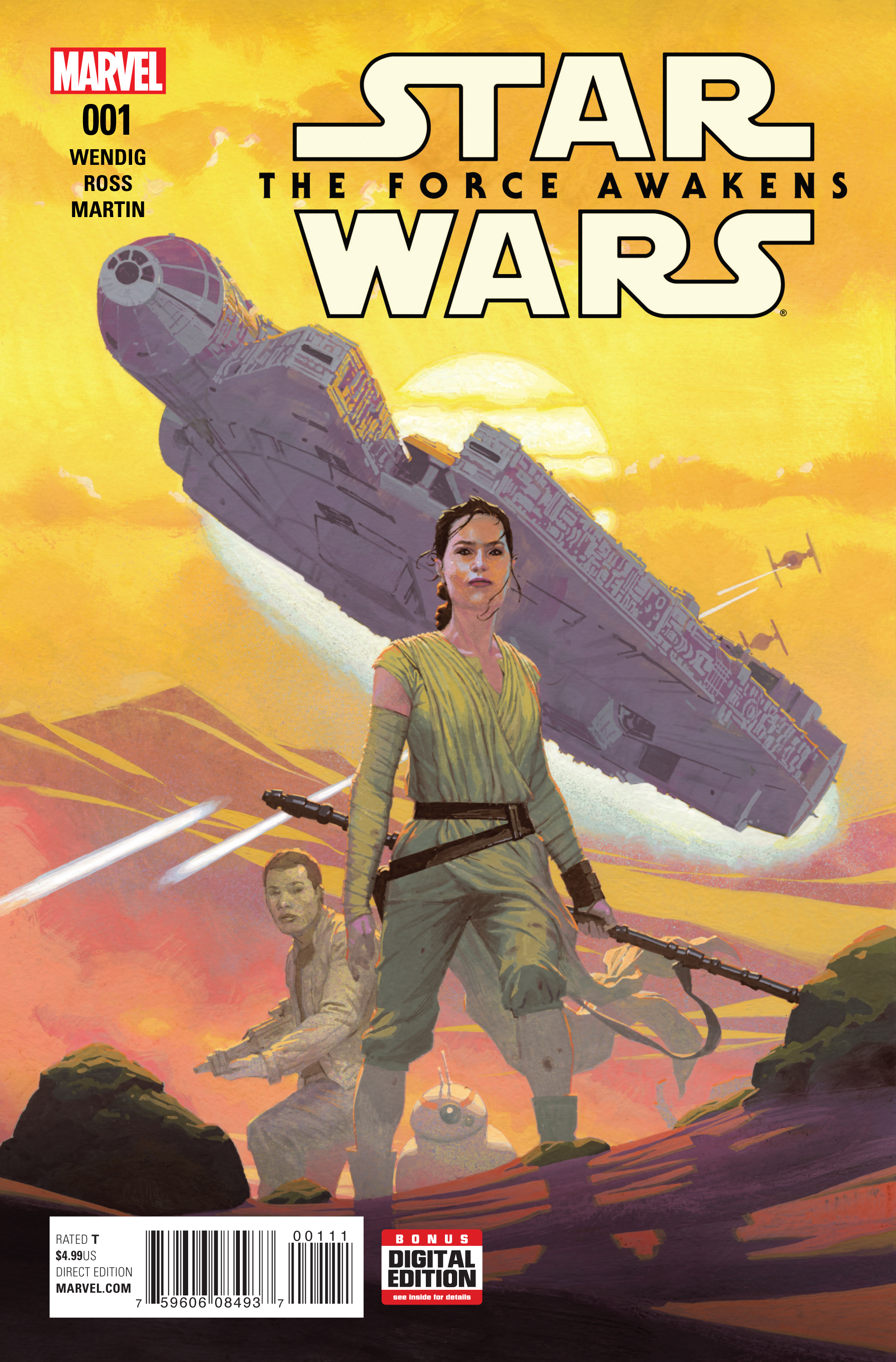 STAR WARS FORCE AWAKENS ADAPTATION #1 (OF 6)