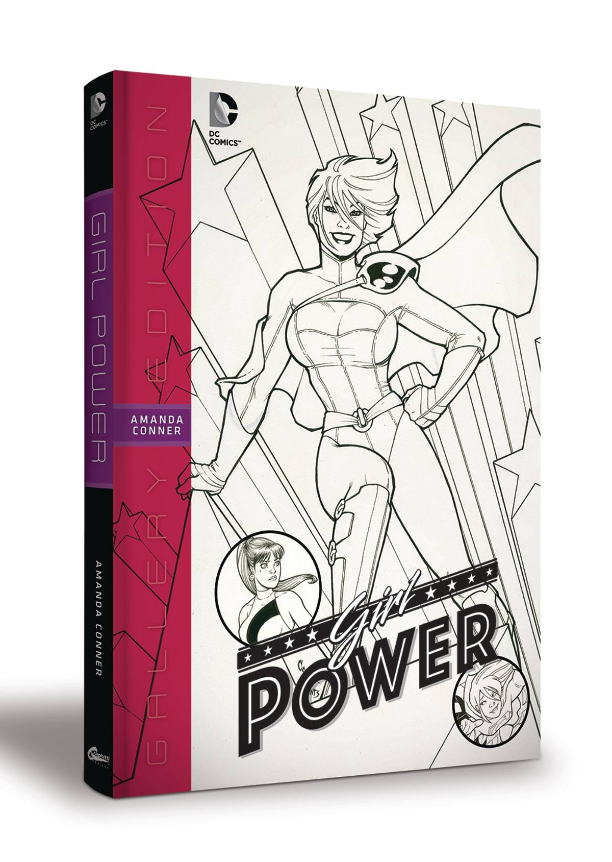 GIRL POWER AMANDA CONNER GALLERY EDITION HC