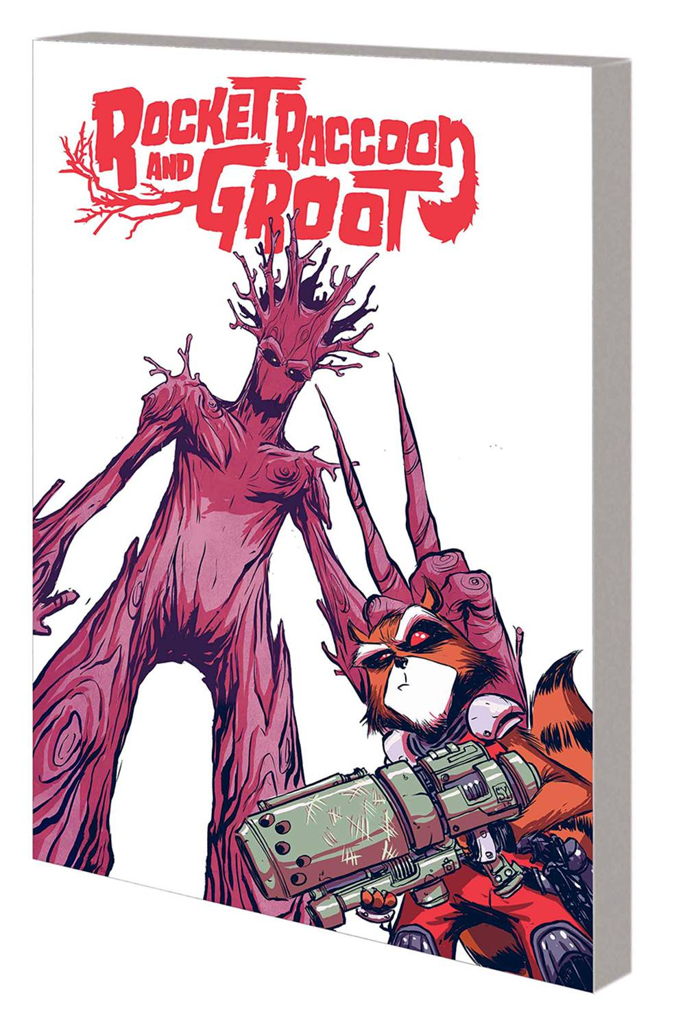ROCKET RACCOON AND GROOT TP VOL 01 TRICKS OF THE TRADE