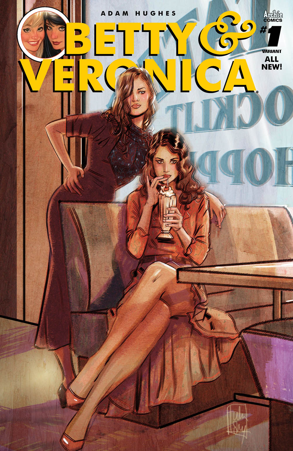 BETTY & VERONICA BY ADAM HUGHES #1 CVR O VAR TULA LOTAY