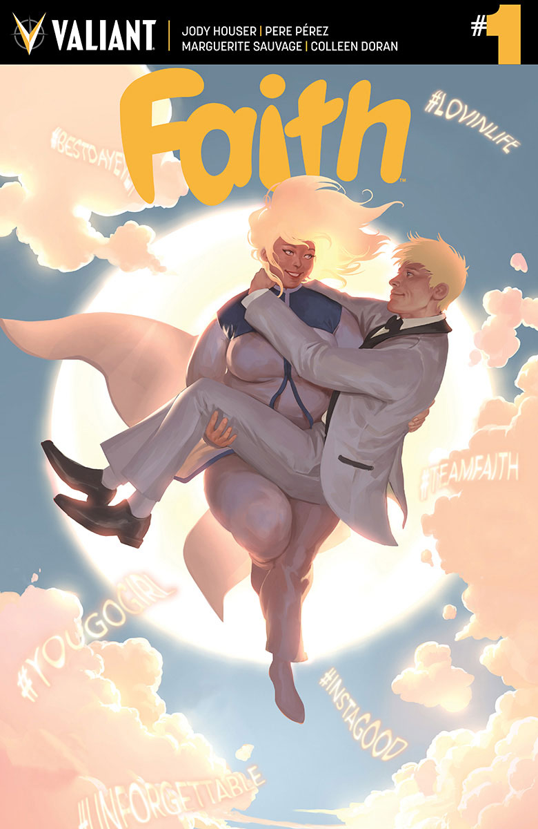 FAITH (ONGOING) #1 CVR B KEVIC-DJURDJEVIC
