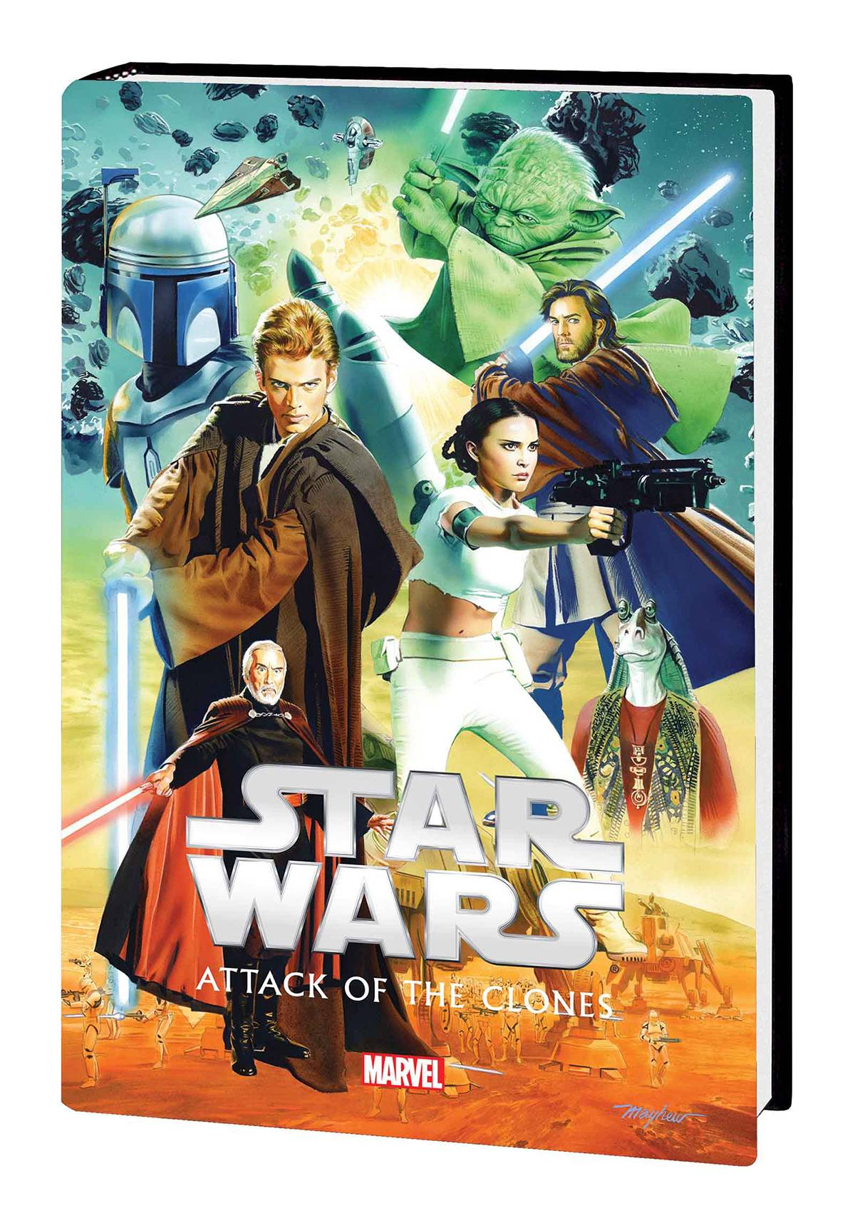 STAR WARS EPISODE II HC ATTACK OF CLONES