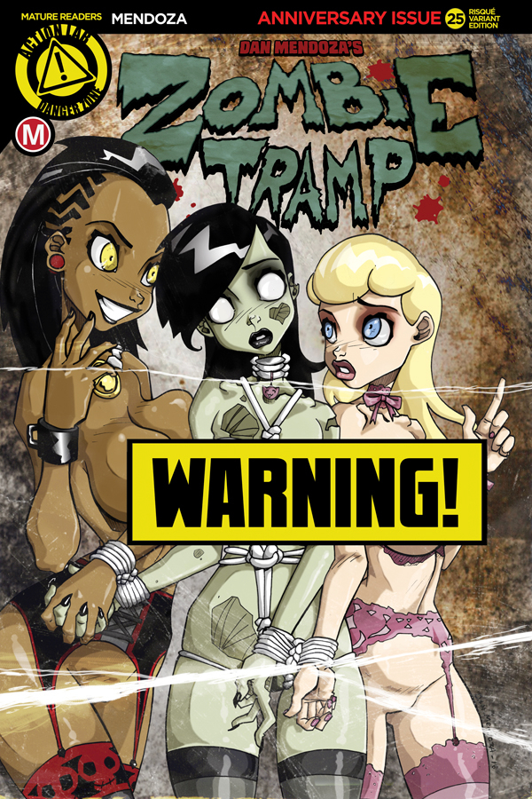 ZOMBIE TRAMP ONGOING #25 CVR B MENDOZA RISQUE (MR)