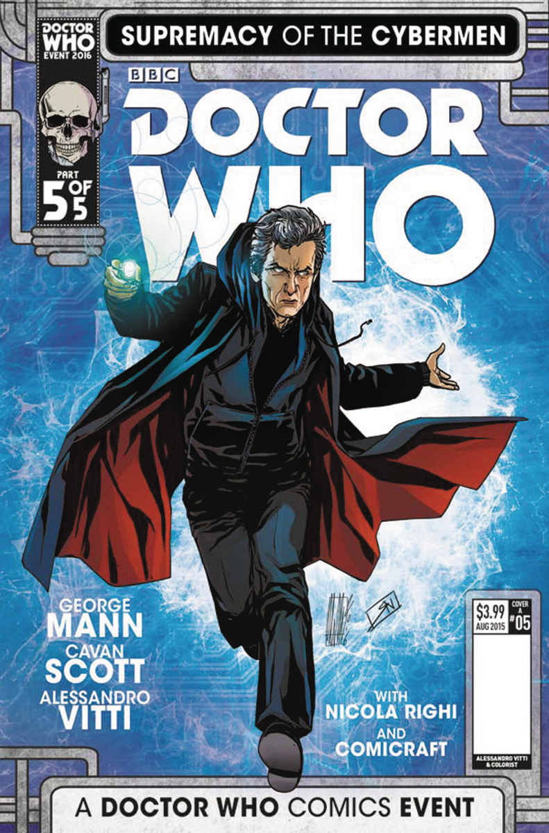 DOCTOR WHO SUPREMACY OF THE CYBERMEN #5 (OF 5) CVR A VITTI