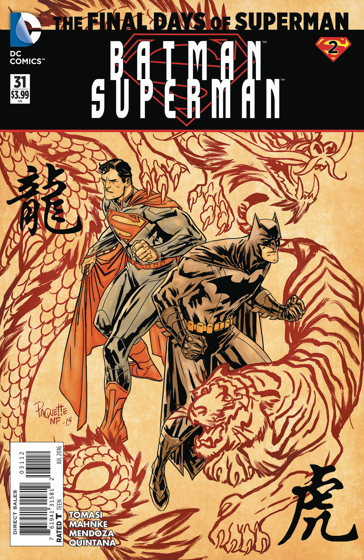 BATMAN SUPERMAN #31 2ND PTG (FINAL DAYS)