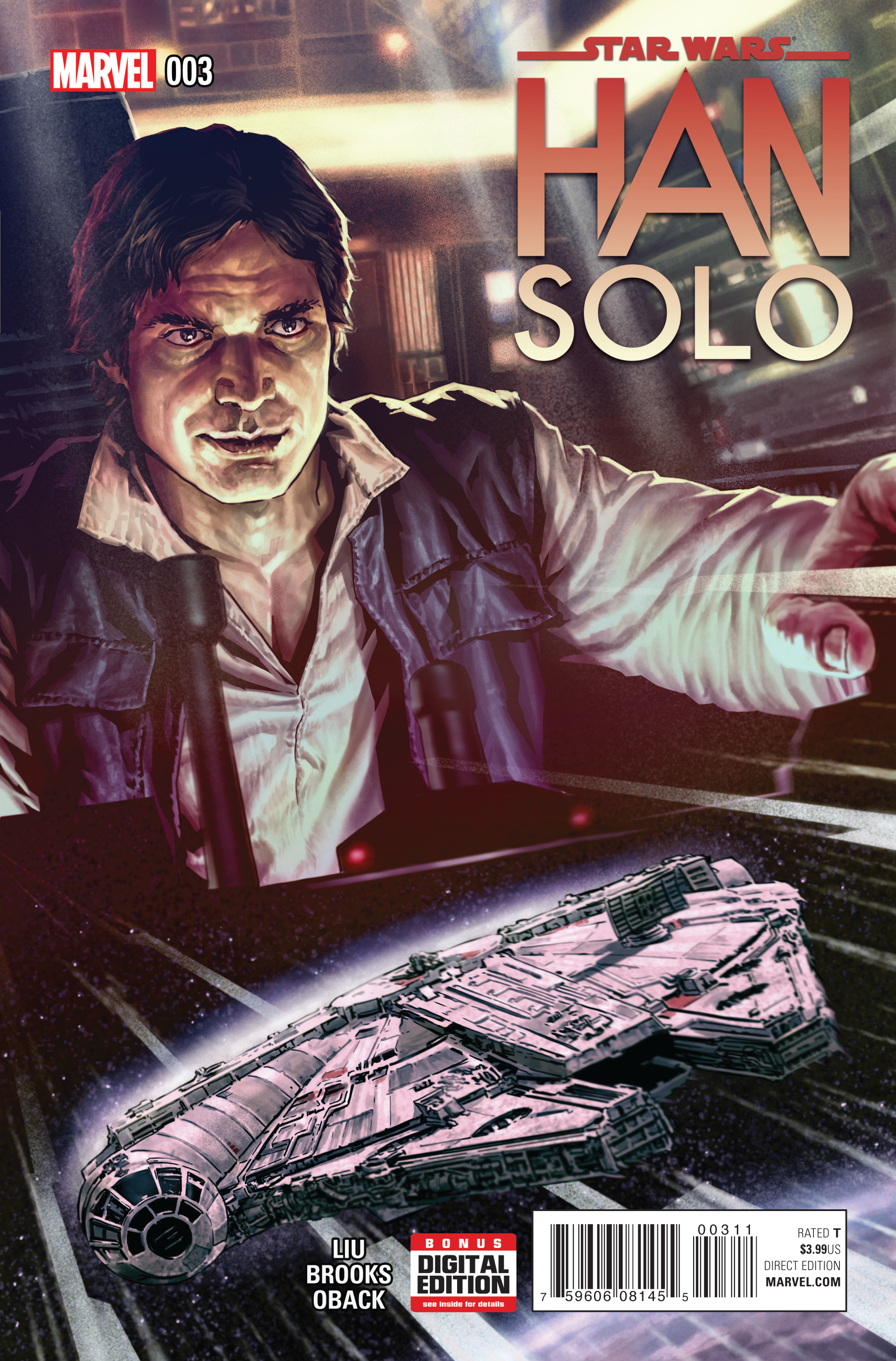 STAR WARS HAN SOLO #3 (OF 5)