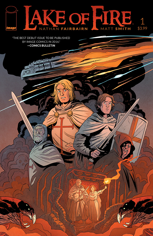 LAKE OF FIRE #1 CVR A SMITH & FAIRBAIRN (MR)