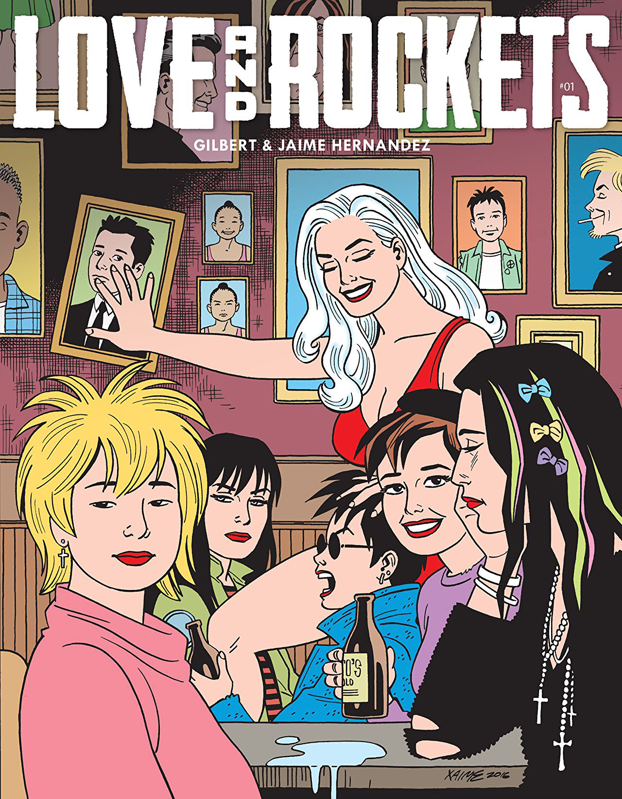 LOVE & ROCKETS MAGAZINE #1 (MR)