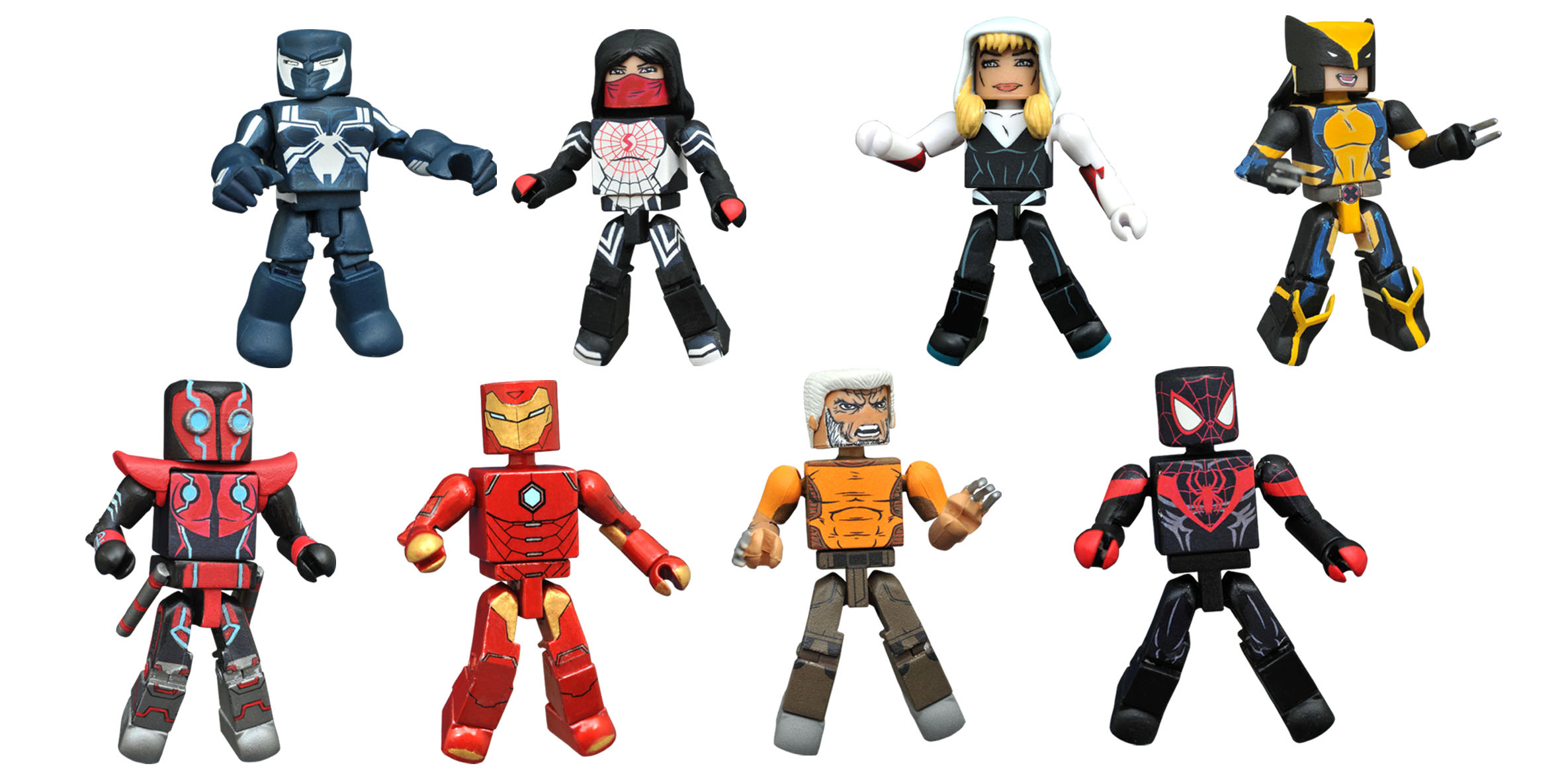 MARVEL NOW MINIMATES BMB COUNTER DISPLAY