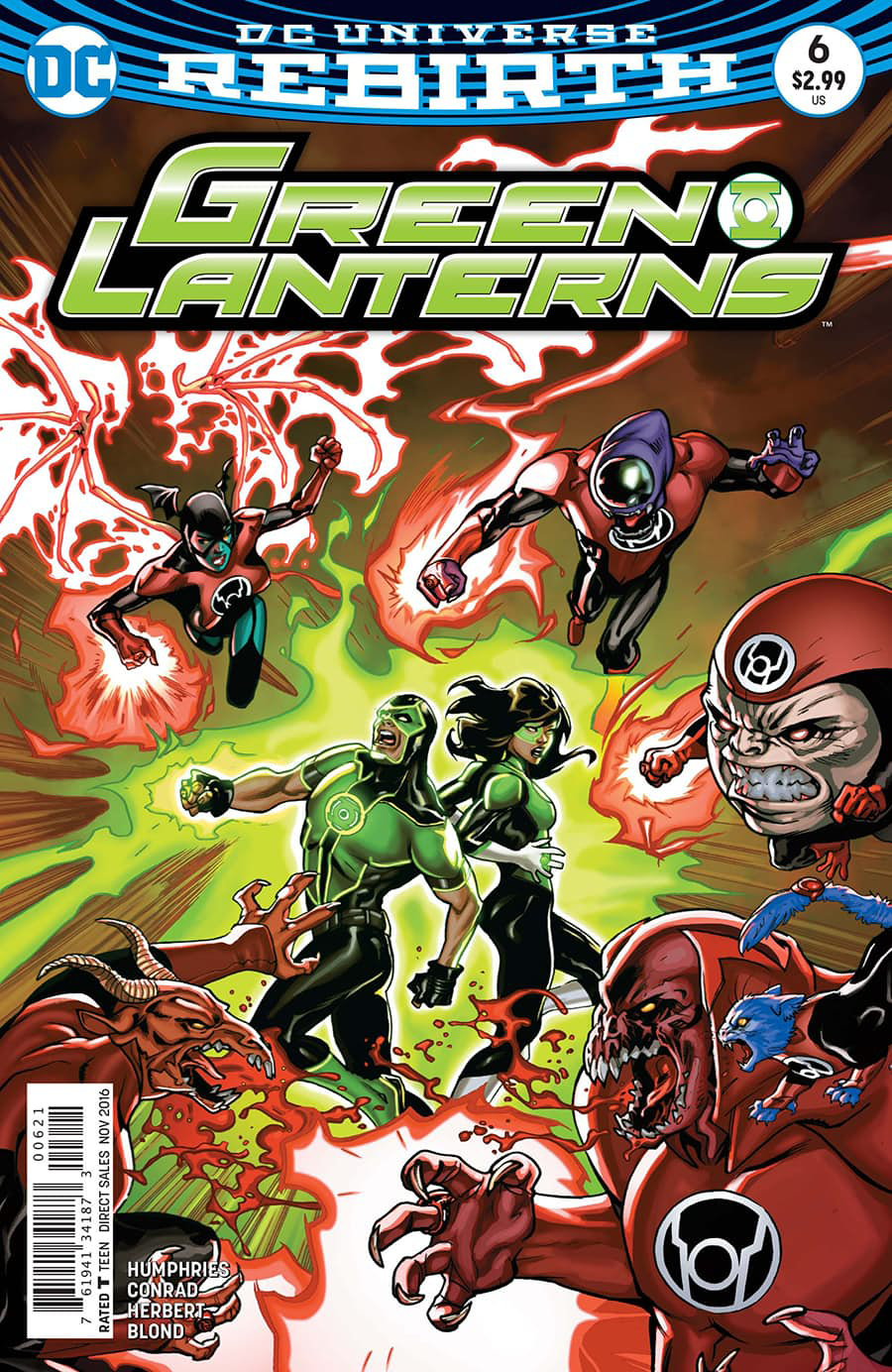 GREEN LANTERNS #6 VAR ED