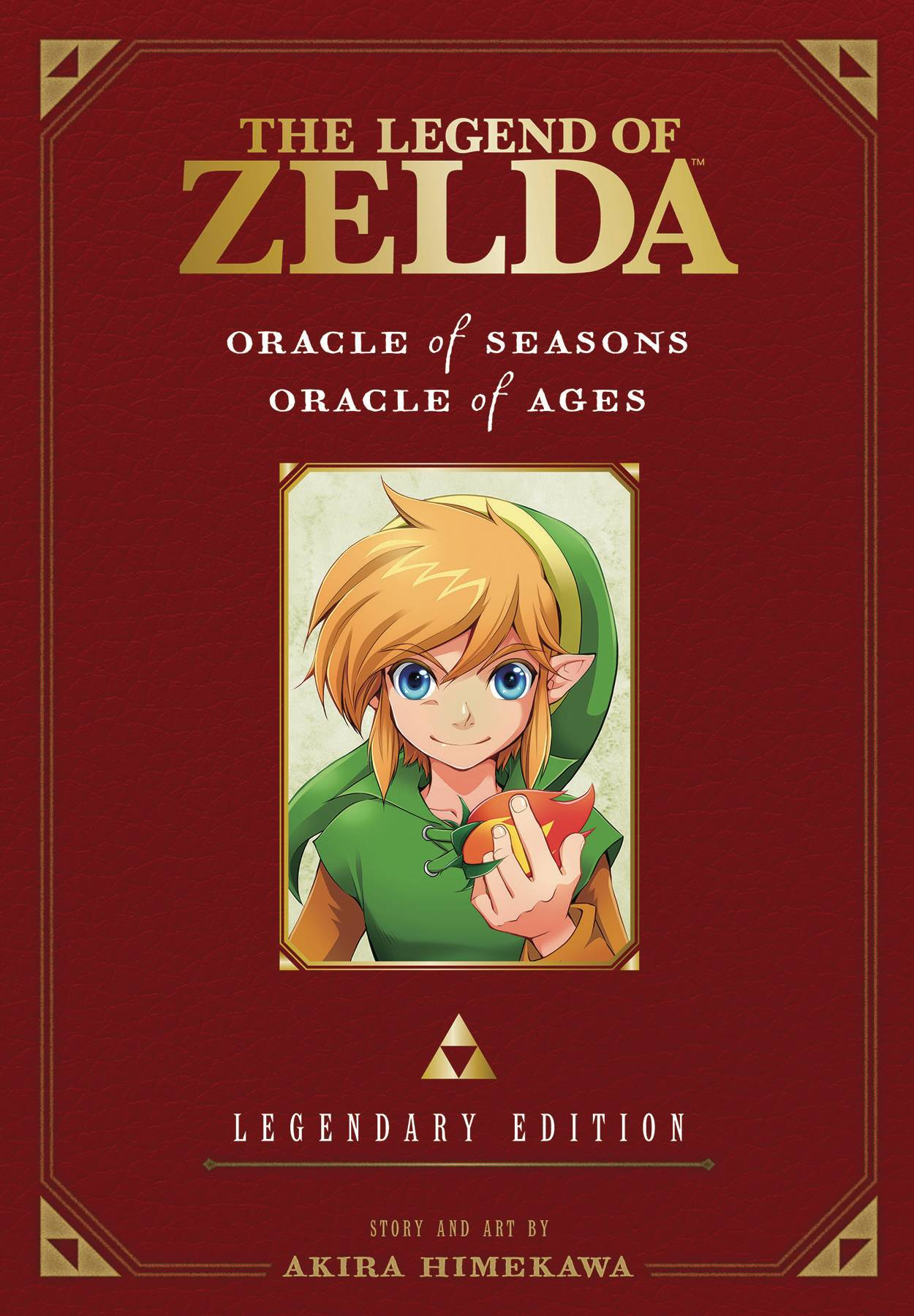 LEGEND OF ZELDA LEGENDARY ED GN VOL 02 ORACLE SEASONS AGES (