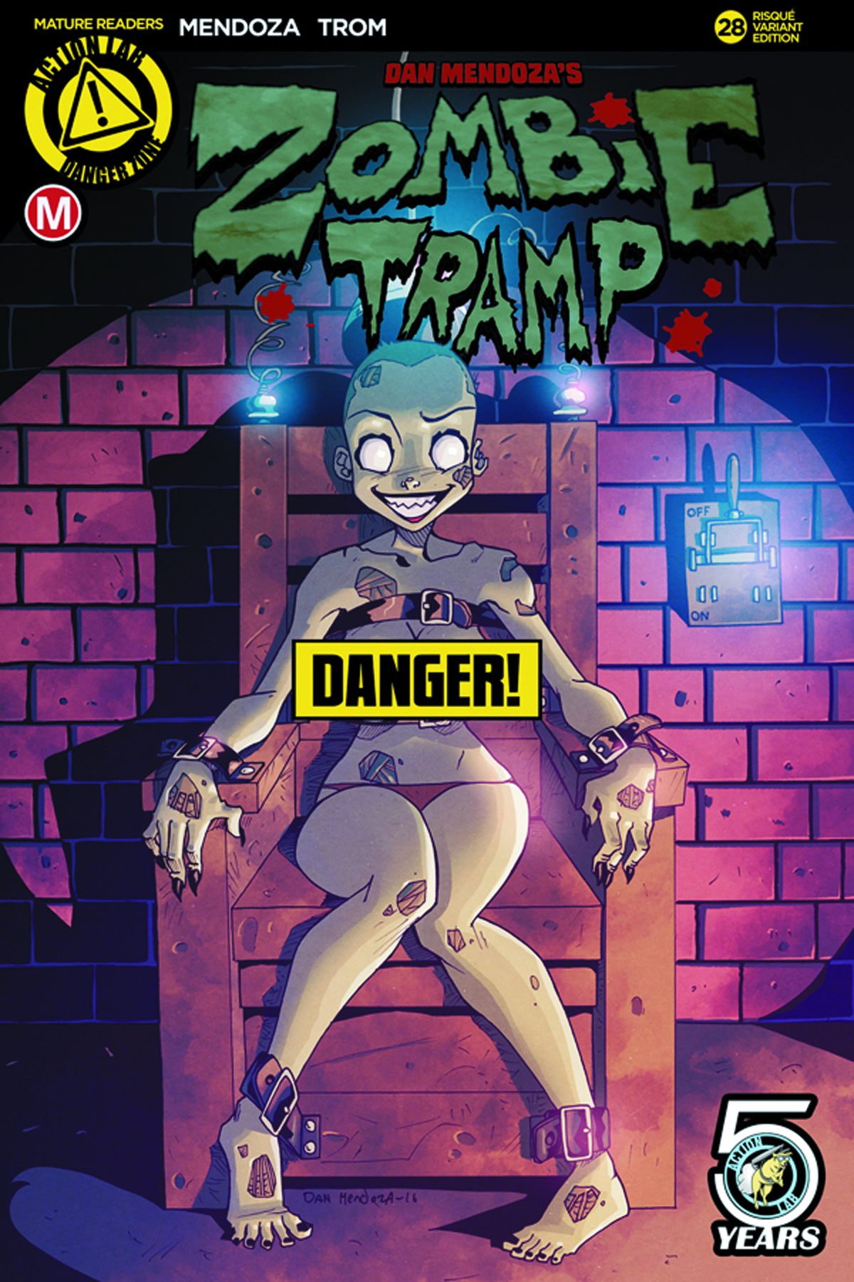 ZOMBIE TRAMP ONGOING #28 CVR B MENDOZA RISQUE (MR)