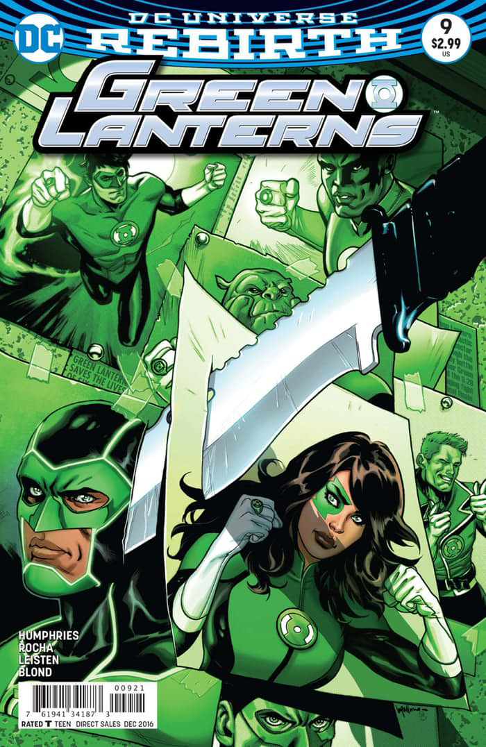 GREEN LANTERNS #9 VAR ED