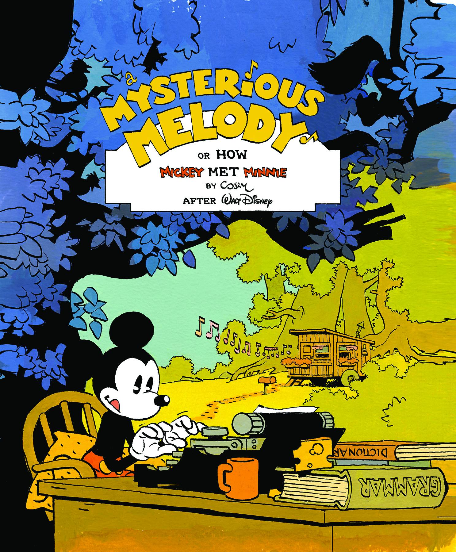 MICKEY MOUSE MYSTERIOUS MELODY HC