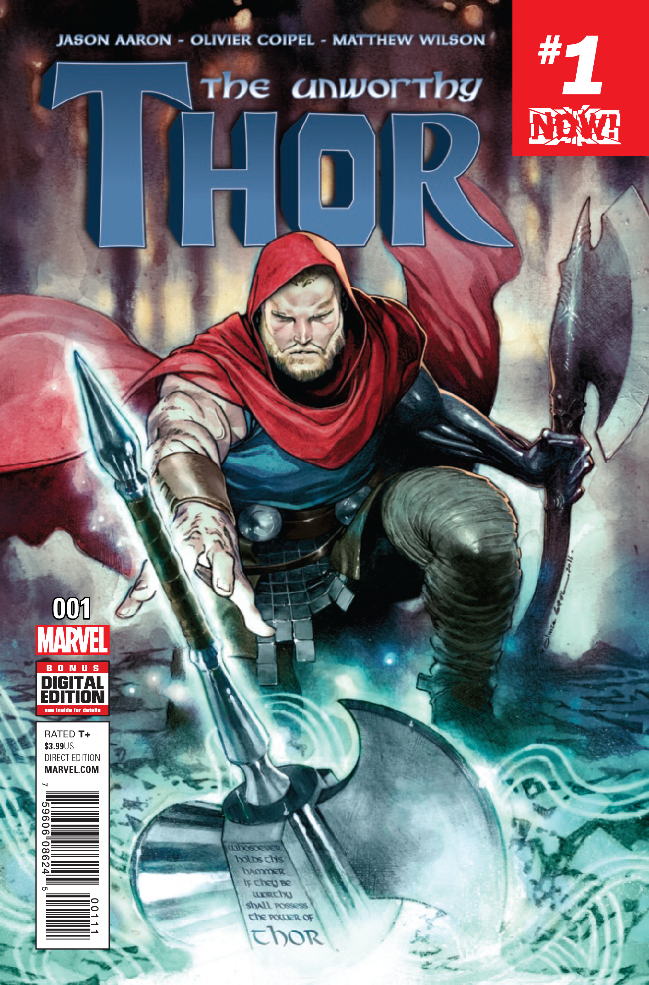 UNWORTHY THOR #1 (OF 5) NOW