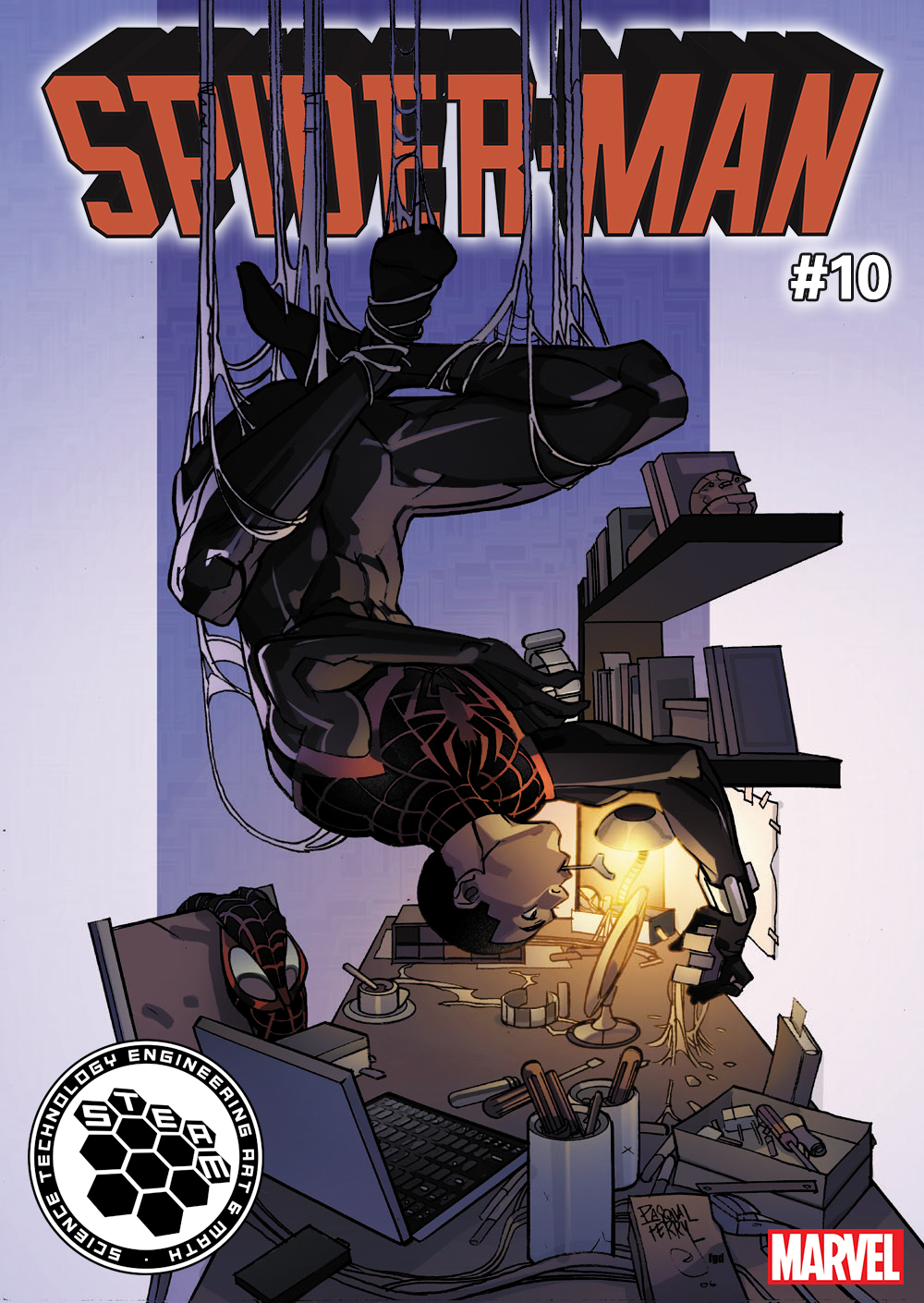 SPIDER-MAN #10 FERRY STEAM VAR