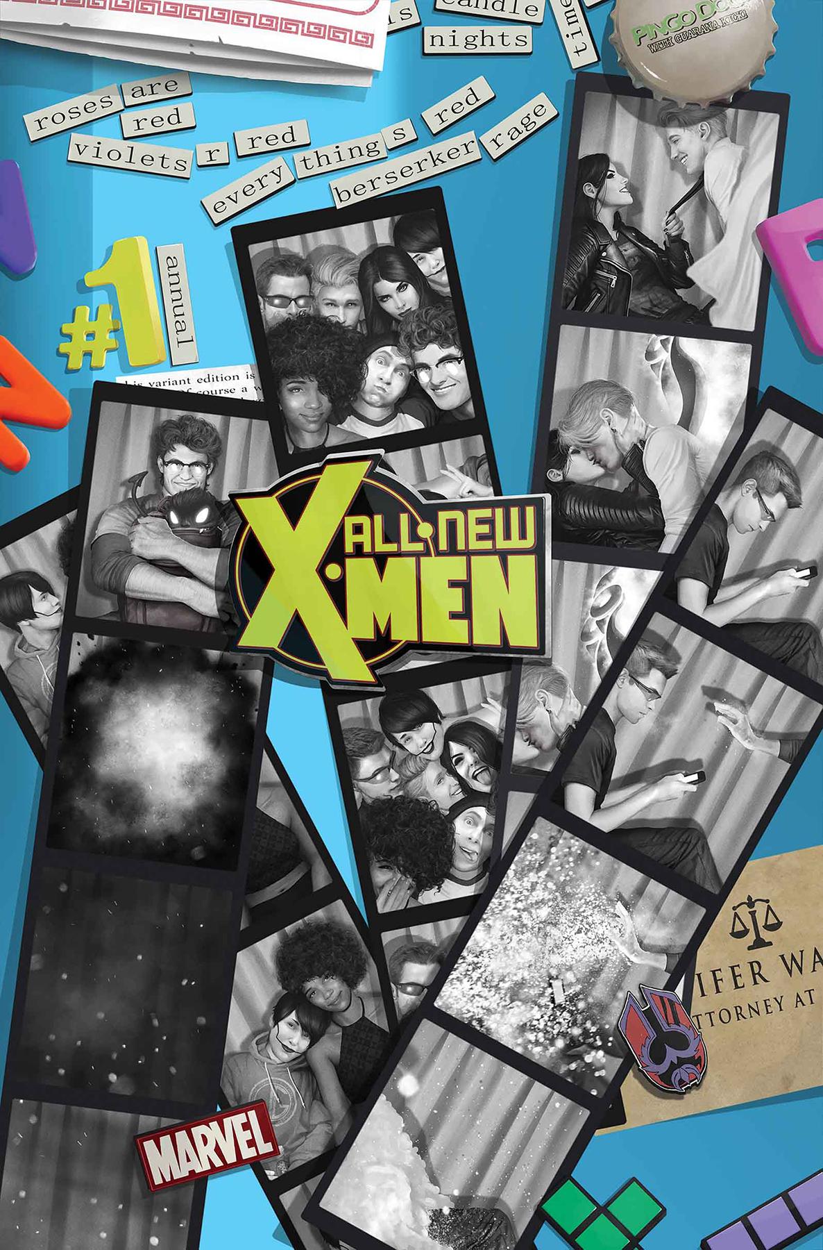 Sep161066 All New X Men Annual 1 Rahzzah Var Previews World