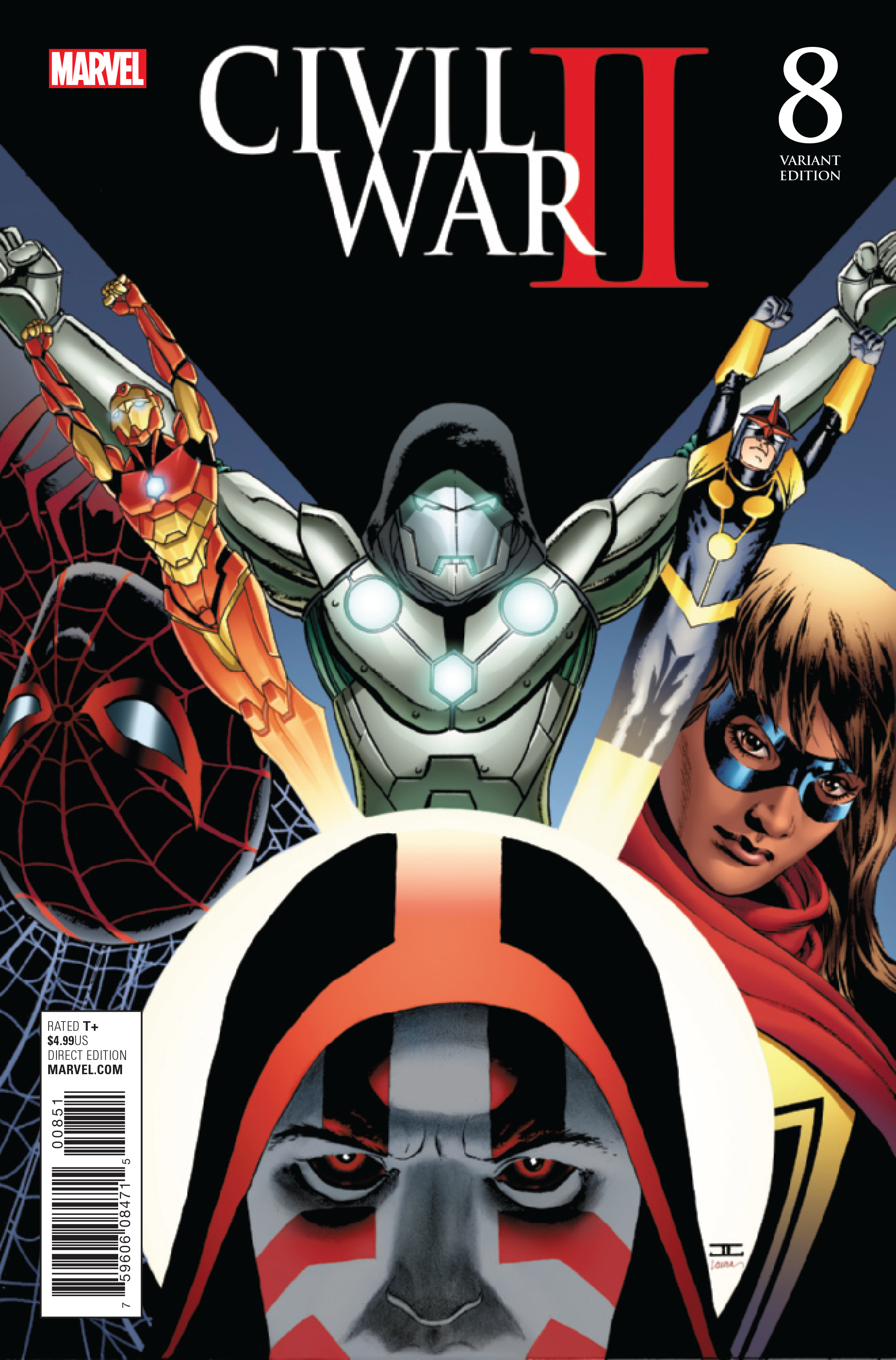 CIVIL WAR II #8 (OF 8) CASSADAY VAR