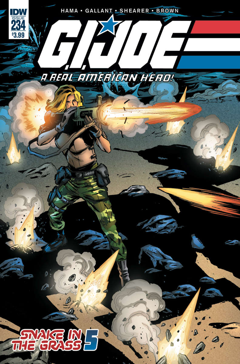 GI JOE A REAL AMERICAN HERO #234