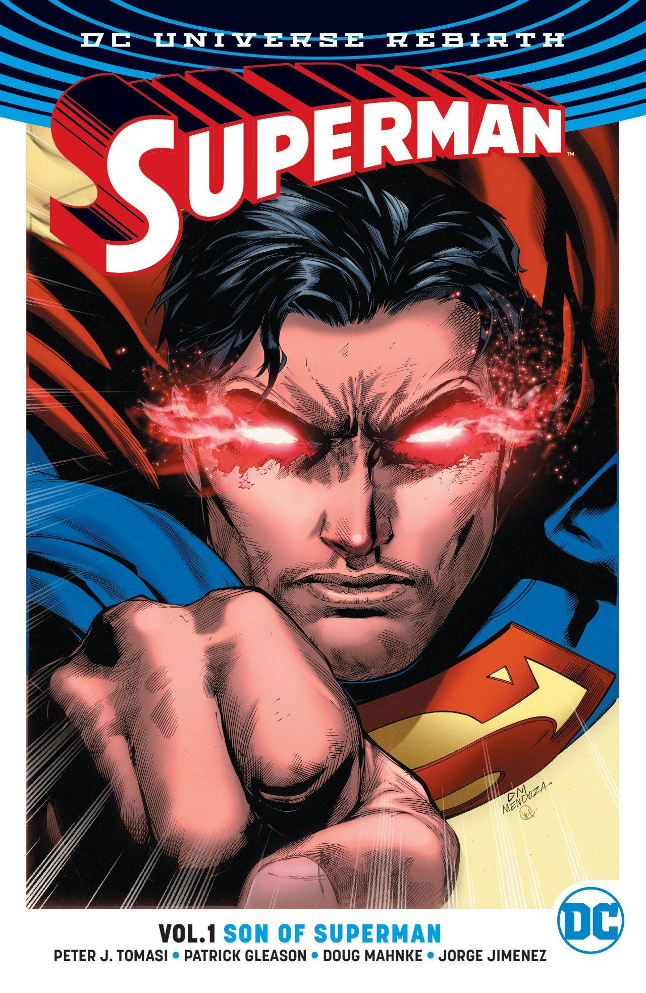 SUPERMAN TP VOL 01 SON OF SUPERMAN (REBIRTH)