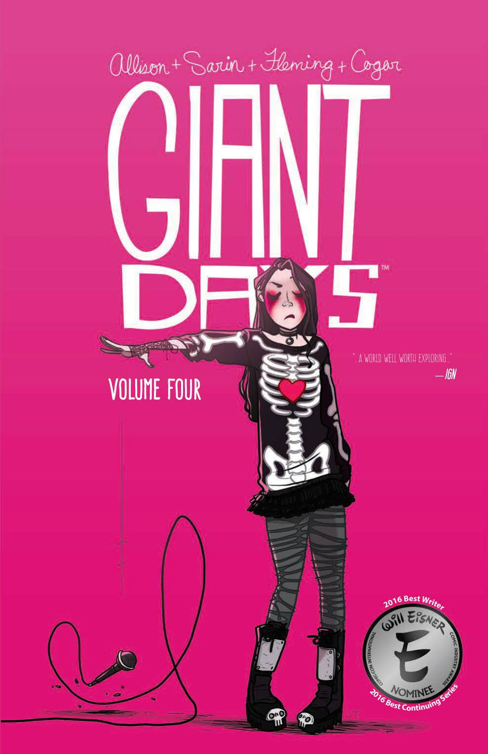 GIANT DAYS TP VOL 04