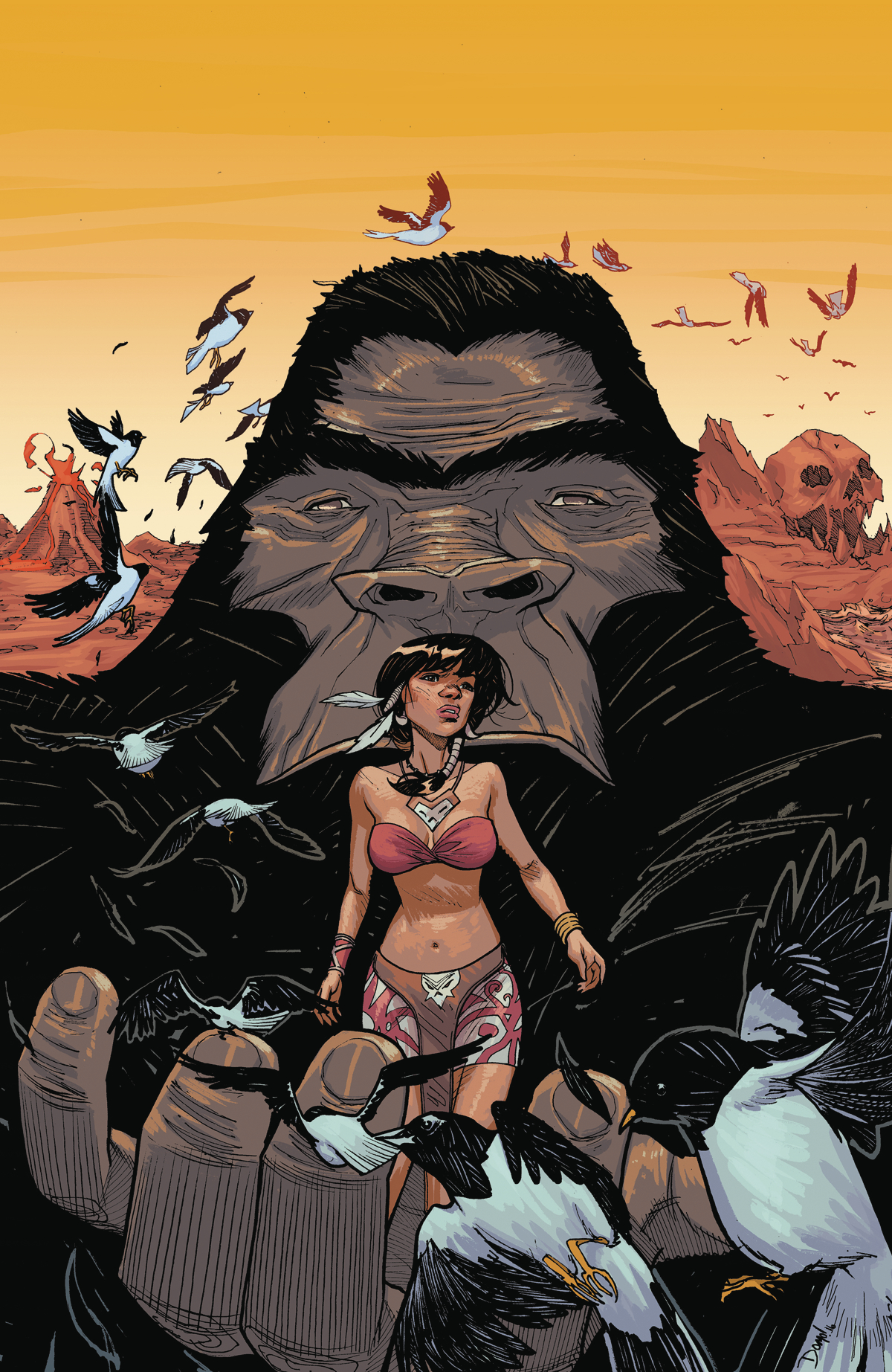 KONG OF SKULL ISLAND #1 (OF 6) BCC EXCLUSIVE