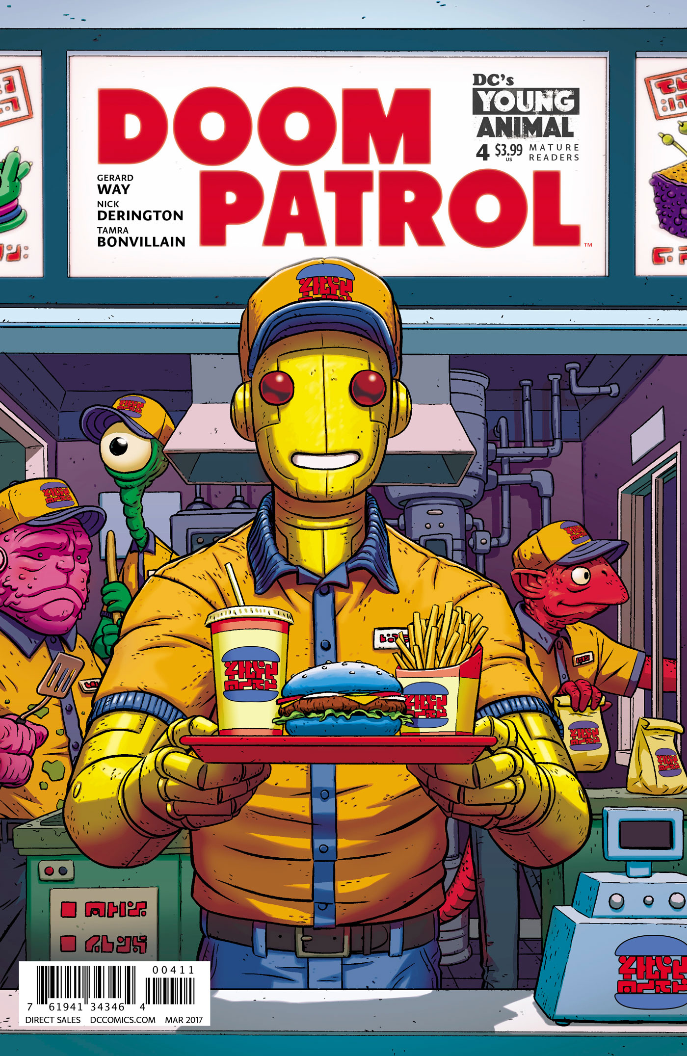 DOOM PATROL #4 (MR)