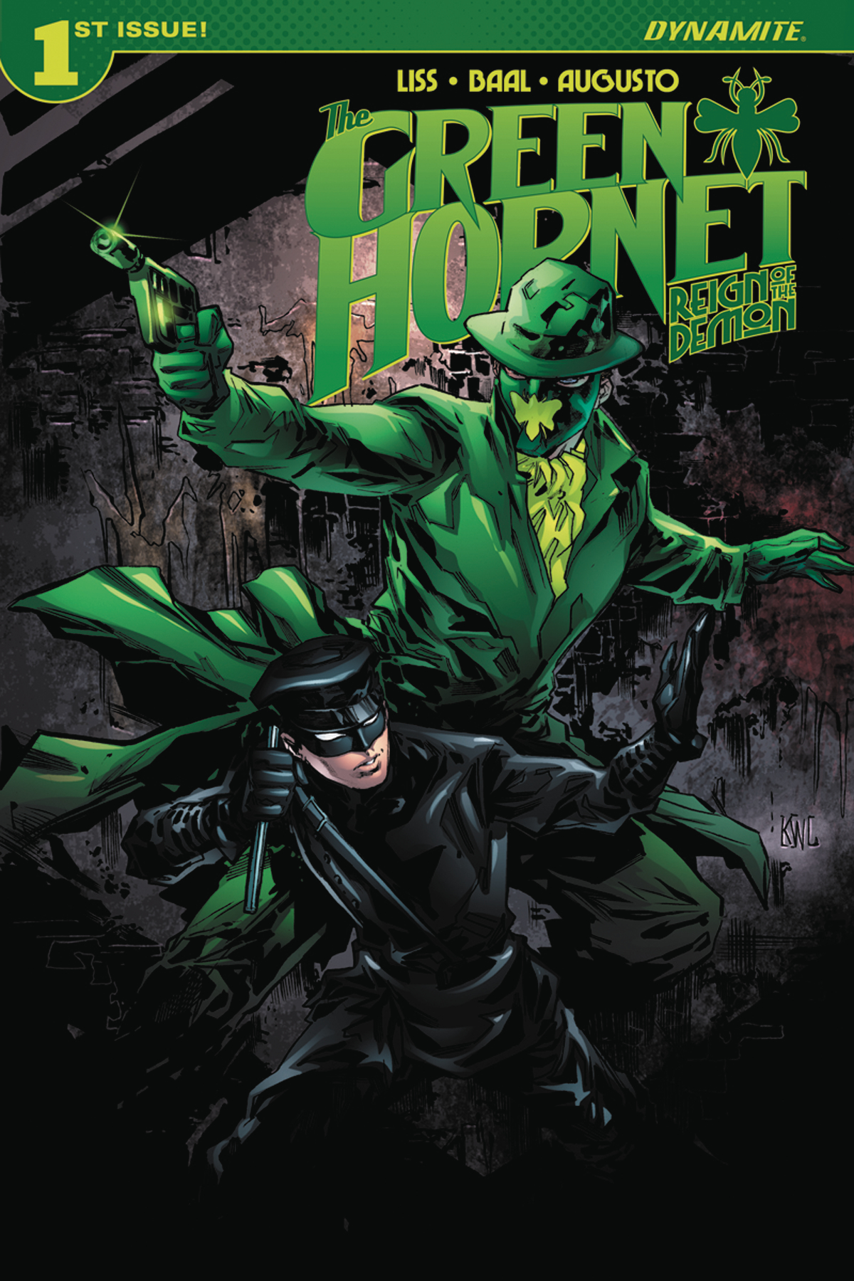 GREEN HORNET REIGN OF DEMON #1 (OF 4) CVR A LASHLEY