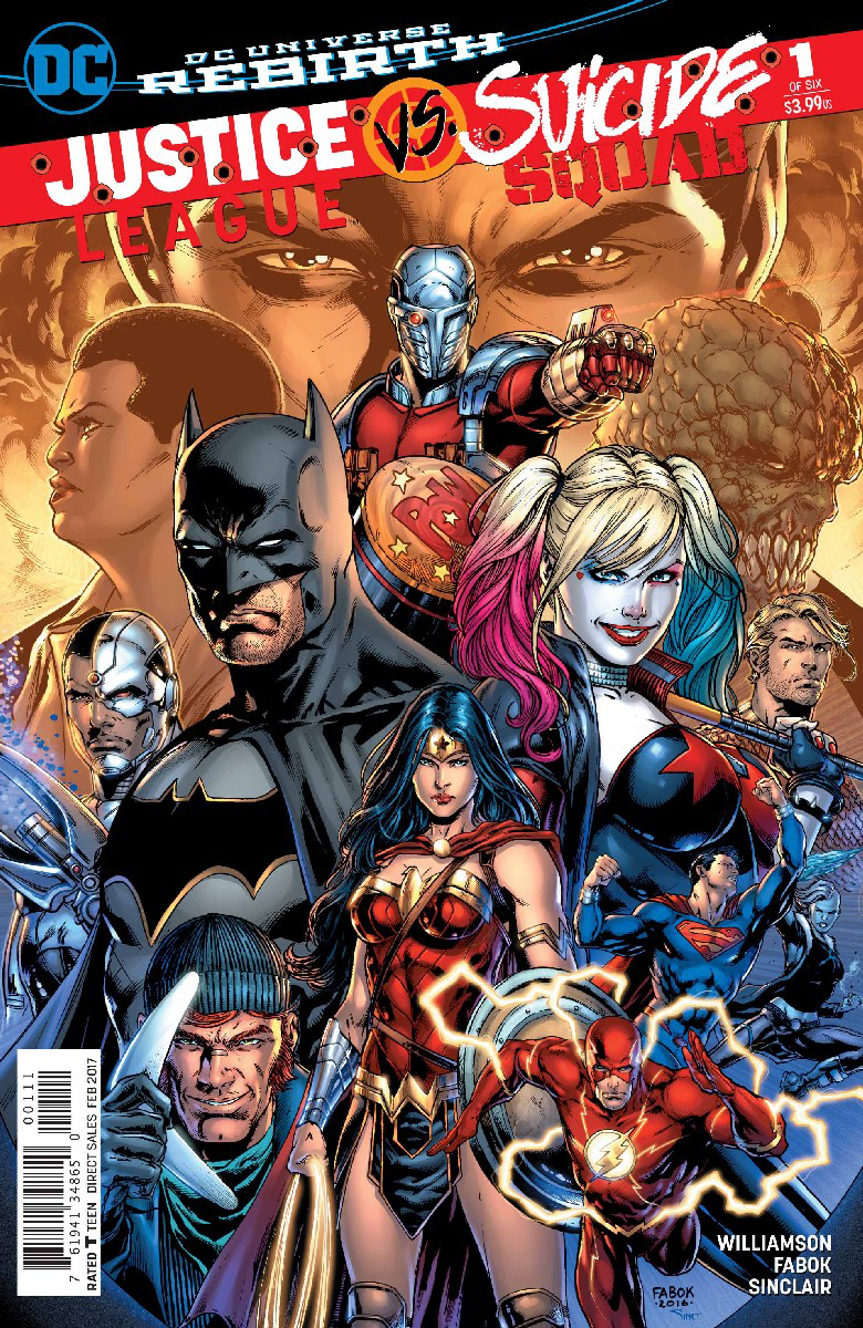 JUSTICE LEAGUE SUICIDE SQUAD #1 (OF 6)