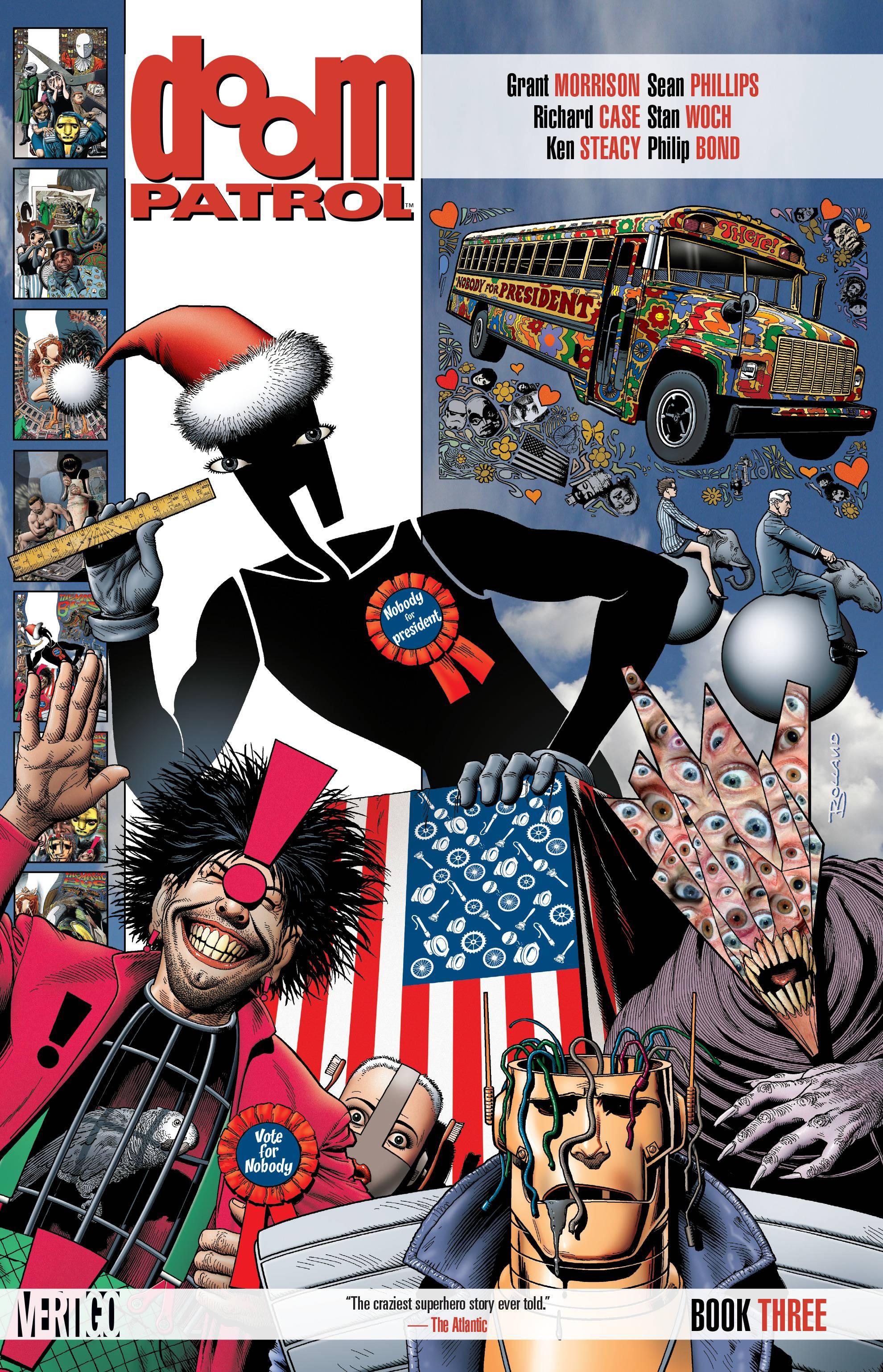 Dec160407 Doom Patrol Tp Book 03 Mr Previews World